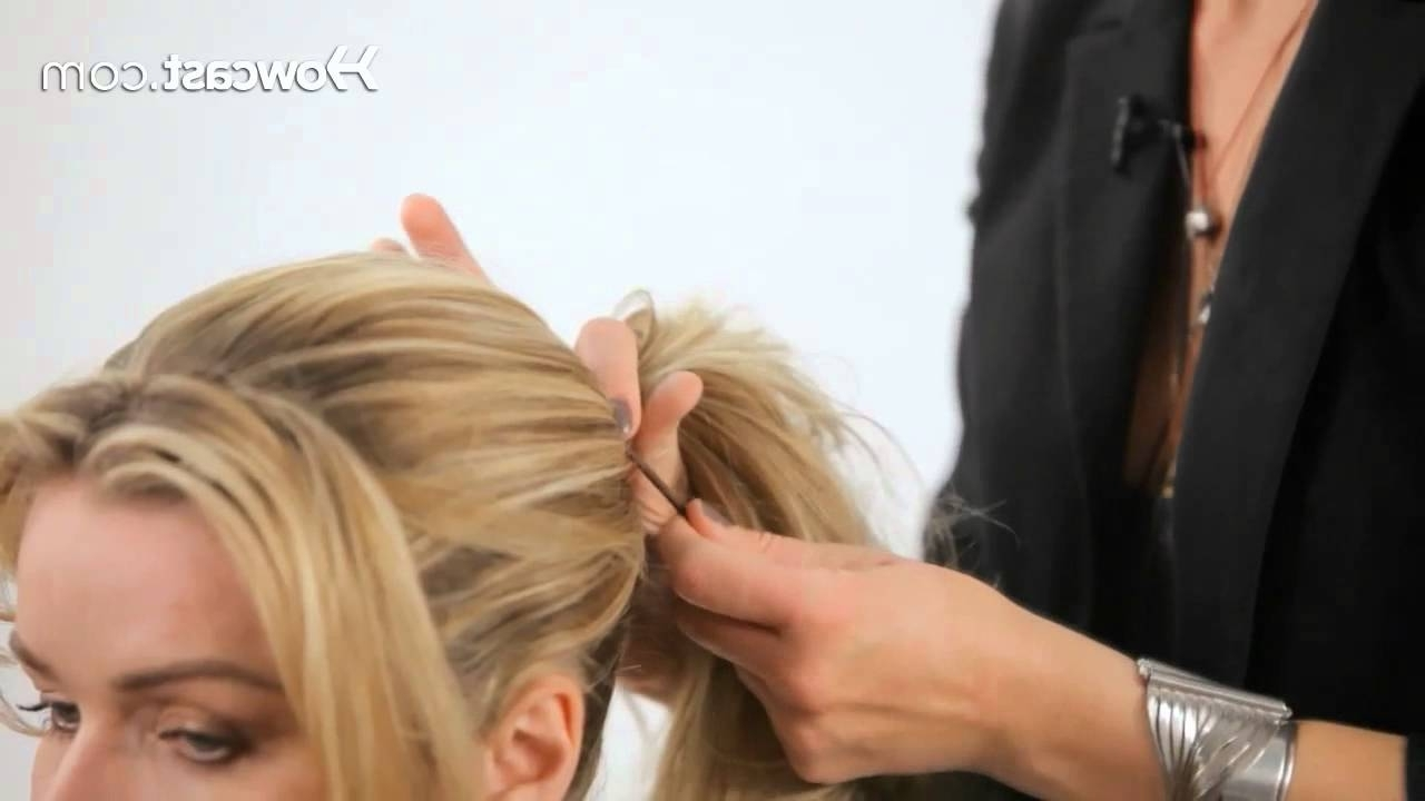 Famous Messy Pony Hairstyles For Medium Hair With Bangs Within How To Create A Messy Ponytail (View 6 of 20)