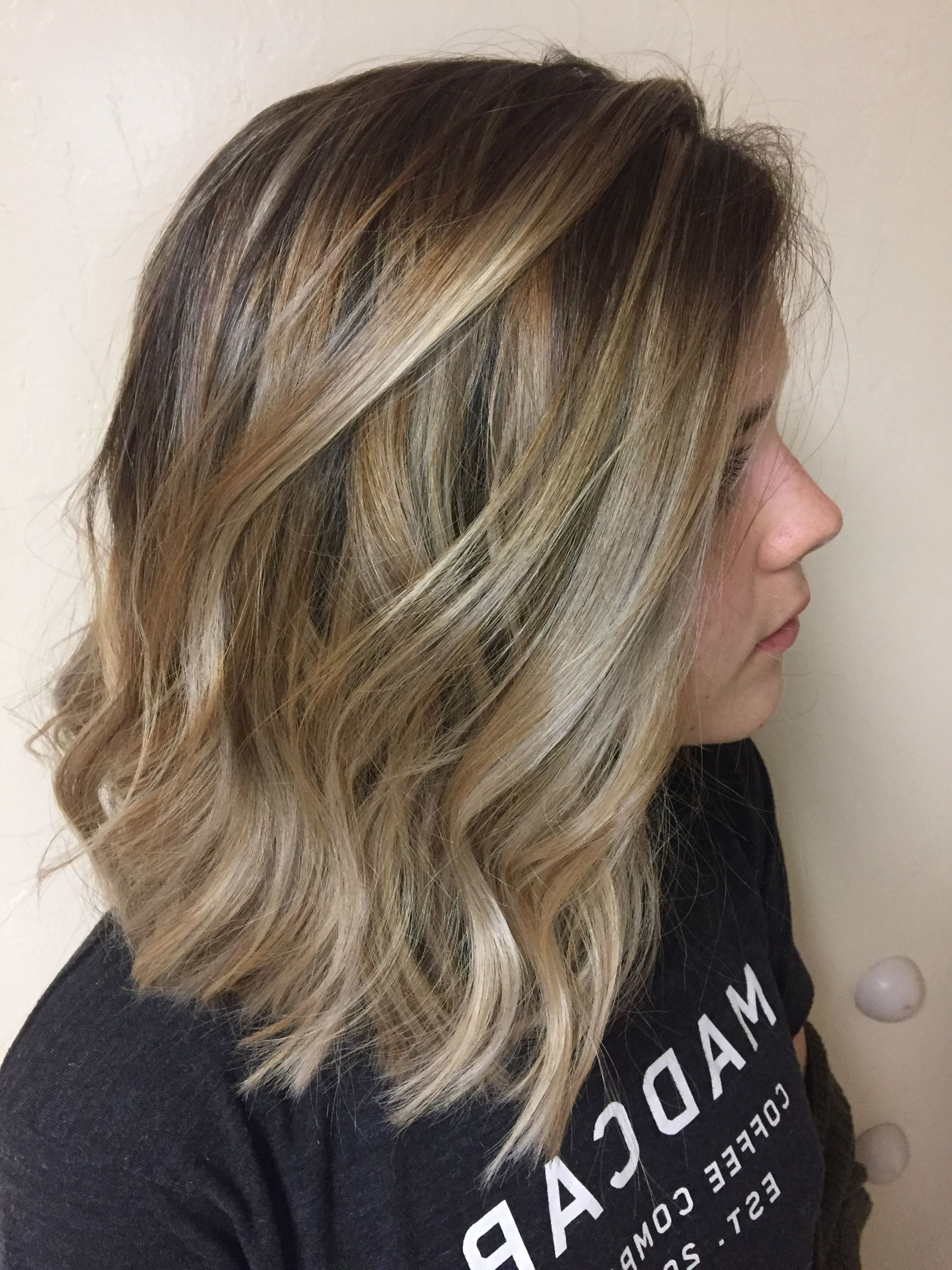 Featured Photo of Ombre Ed Blonde Lob Hairstyles