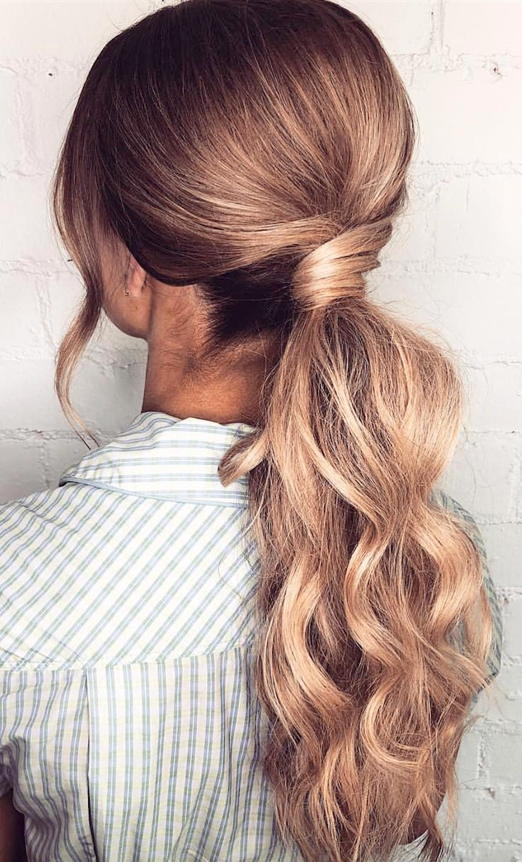Famous Romantically Messy Ponytail Hairstyles Throughout 7 Clever Ways To Wear A Ponytail For Every Occasion (View 8 of 20)