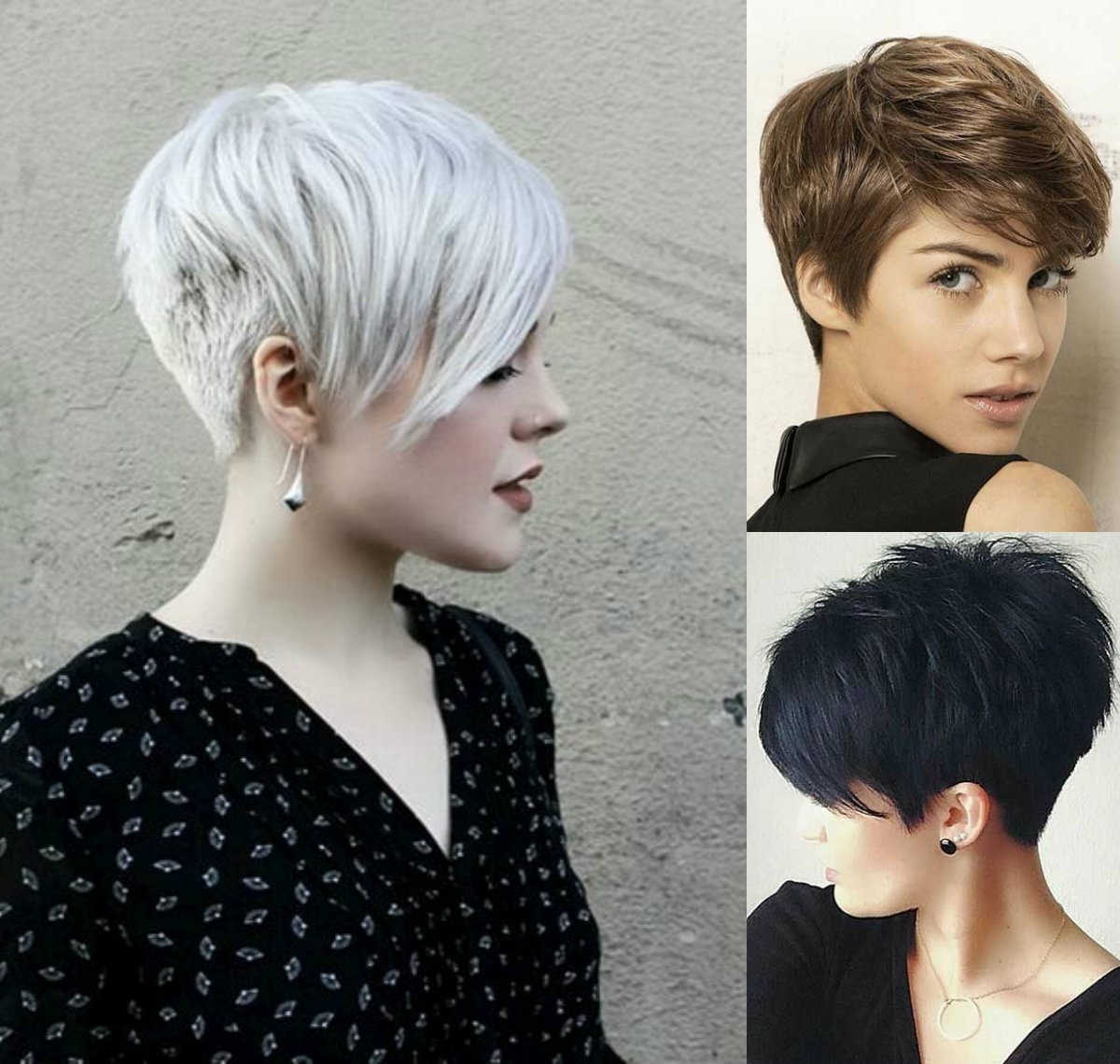Famous Sassy Silver Pixie Blonde Hairstyles Pertaining To Vibrant Layered Pixie Haircuts  (View 5 of 20)