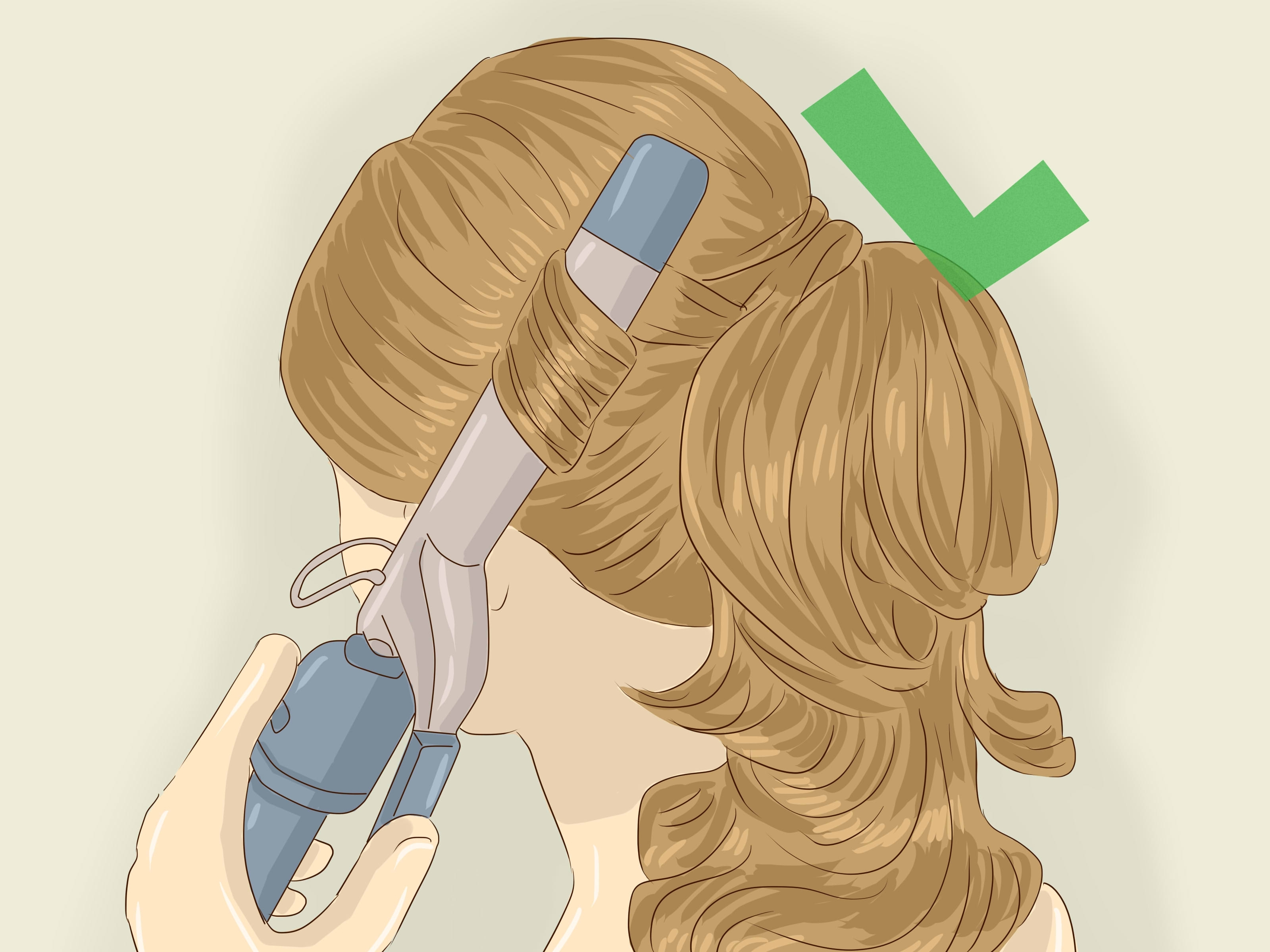 Famous Vintage Curls Ponytail Hairstyles Throughout 3 Ways To Make A Retro Ponytail – Wikihow (View 8 of 20)