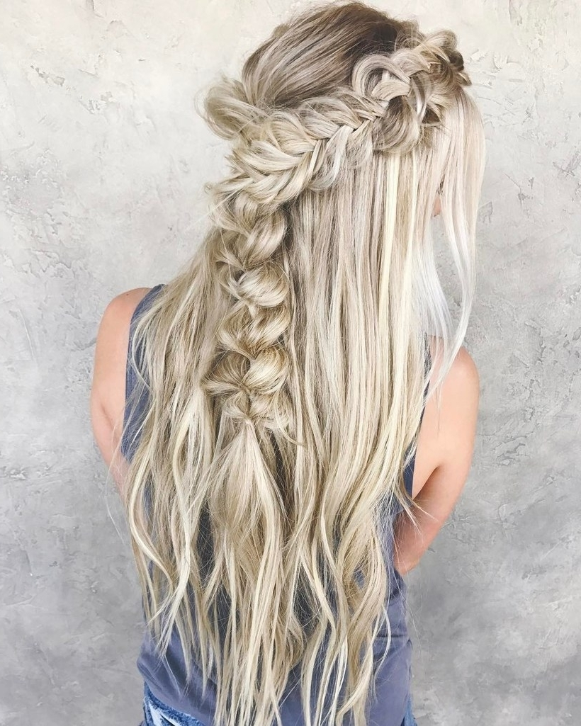 Famous Wispy Fishtail Hairstyles With Regard To 35 Best Braided Hairstyles Ideas To Steal From Instagram (View 5 of 20)