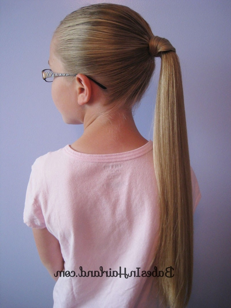 Famous Wrapped Up Ponytail Hairstyles Within Hair Wrapped Ponytail – Our Way – Babes In Hairland (View 7 of 20)