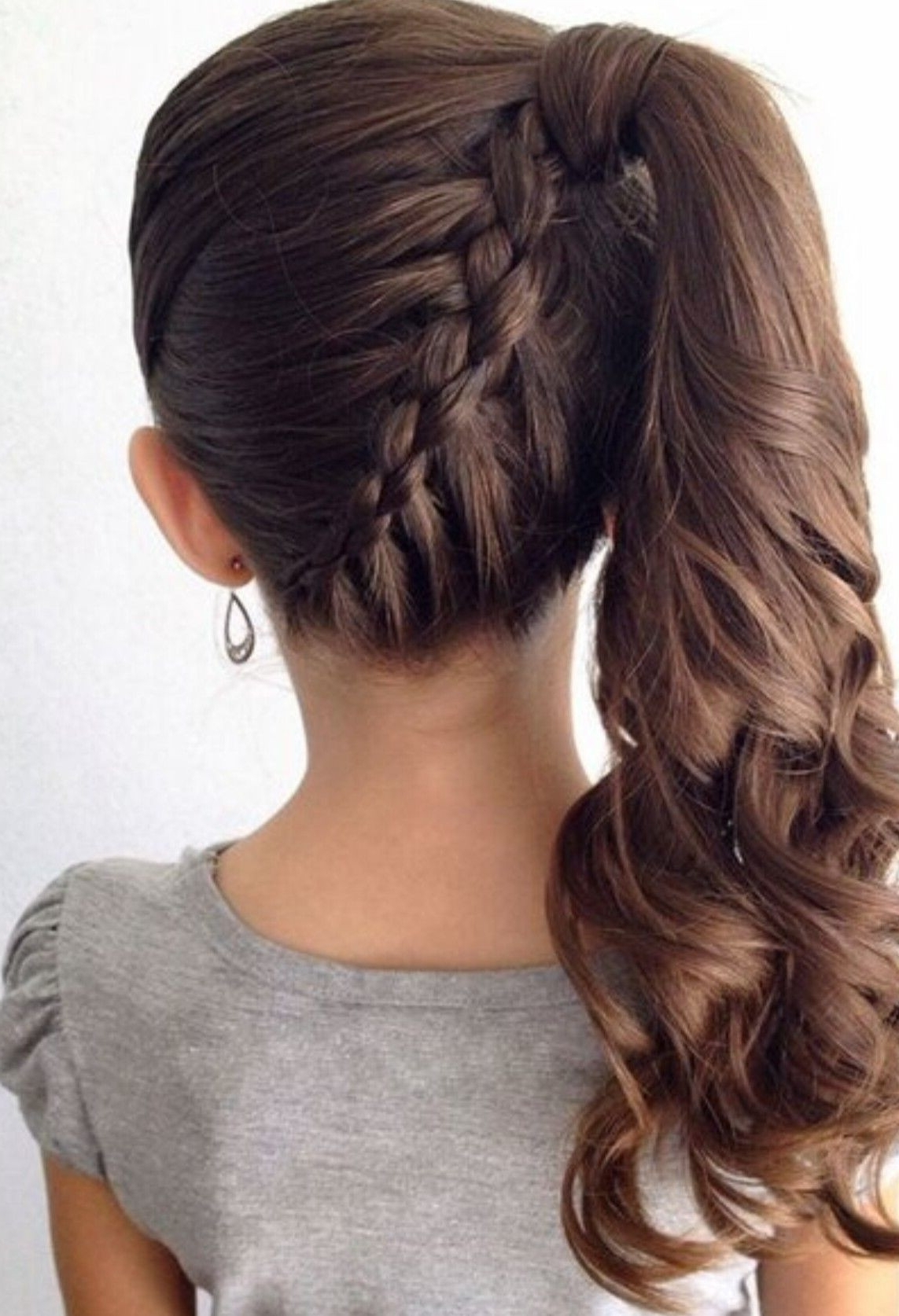 Fancy Ponytail Hairstyles ☆ Easy Half Up Half Down Lovely Fancy Regarding Best And Newest Brunette Prom Ponytail Hairstyles (View 18 of 20)