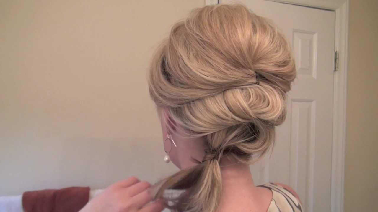 Fancy Side Pony – Youtube In Well Liked Fancy Side Ponytail Hairstyles (View 6 of 20)