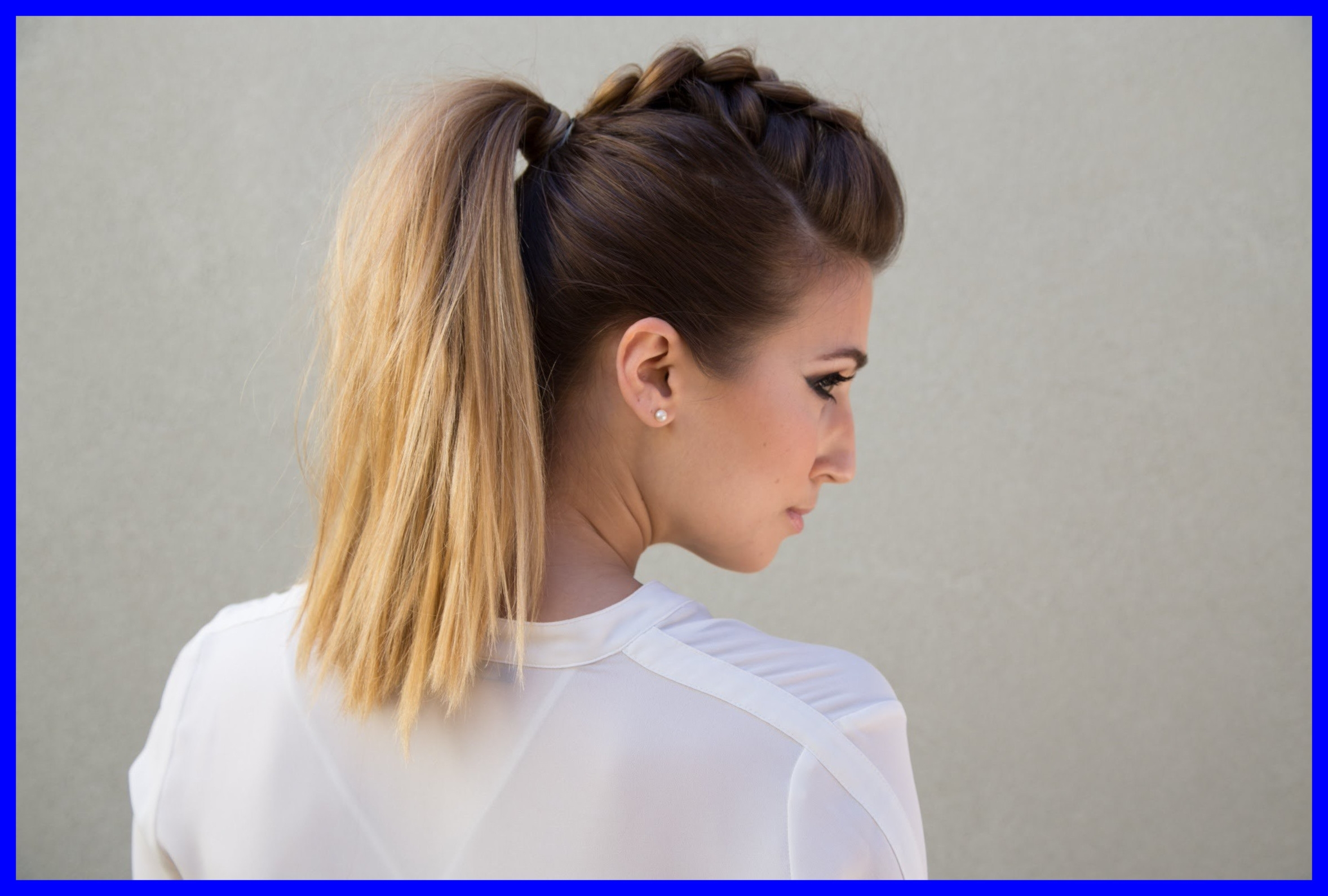 Fascinating Mohawk Ponytail Fresh Dutch Braid Faux Hawk Pony Kids With Most Popular Mohawk Braid Into Pony Hairstyles (View 8 of 20)