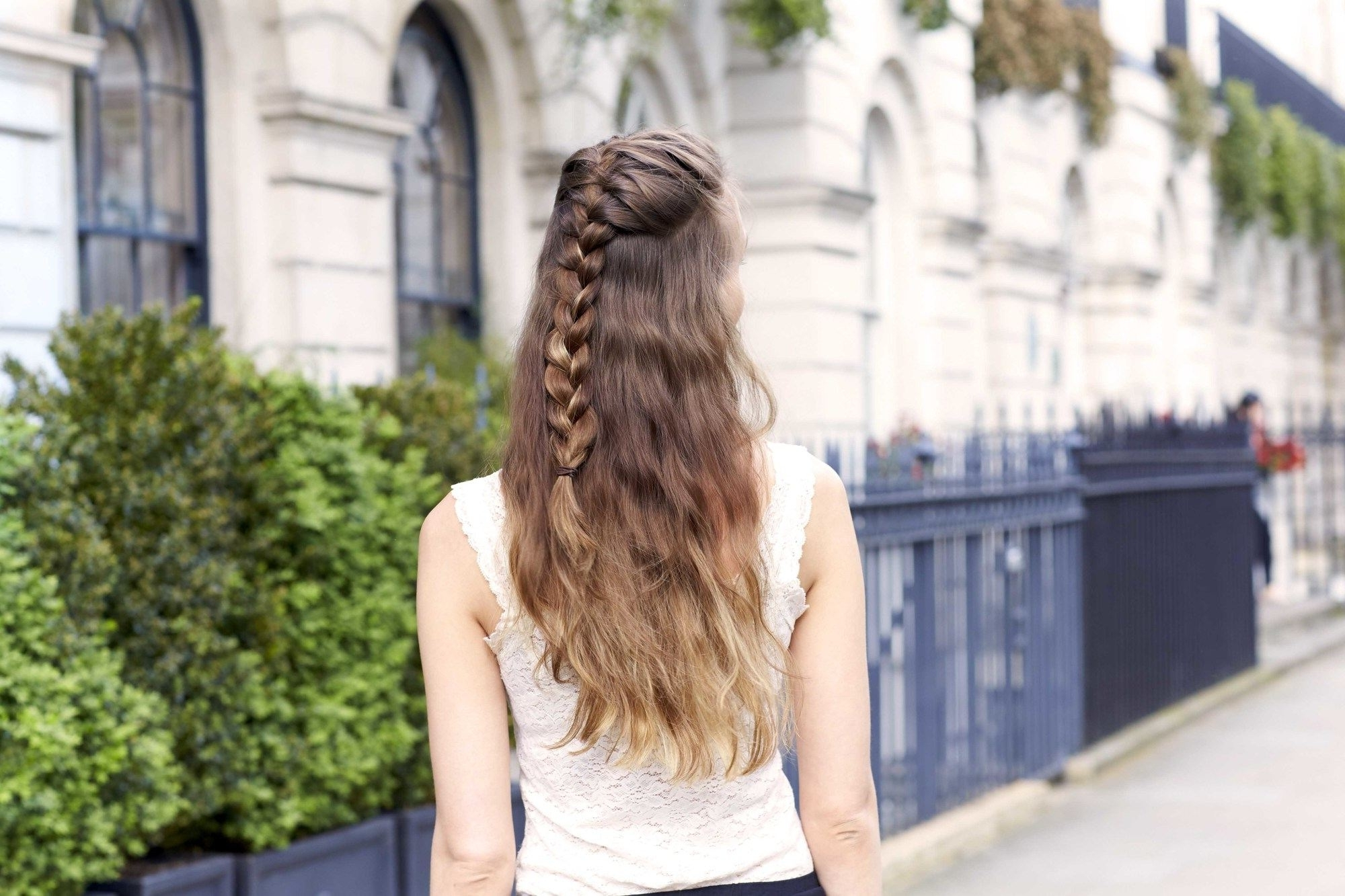 Fashionable Beachy Braids Hairstyles Intended For French Braid Hairstyles: 8 Casual Weekend Plaits To Try (View 7 of 20)