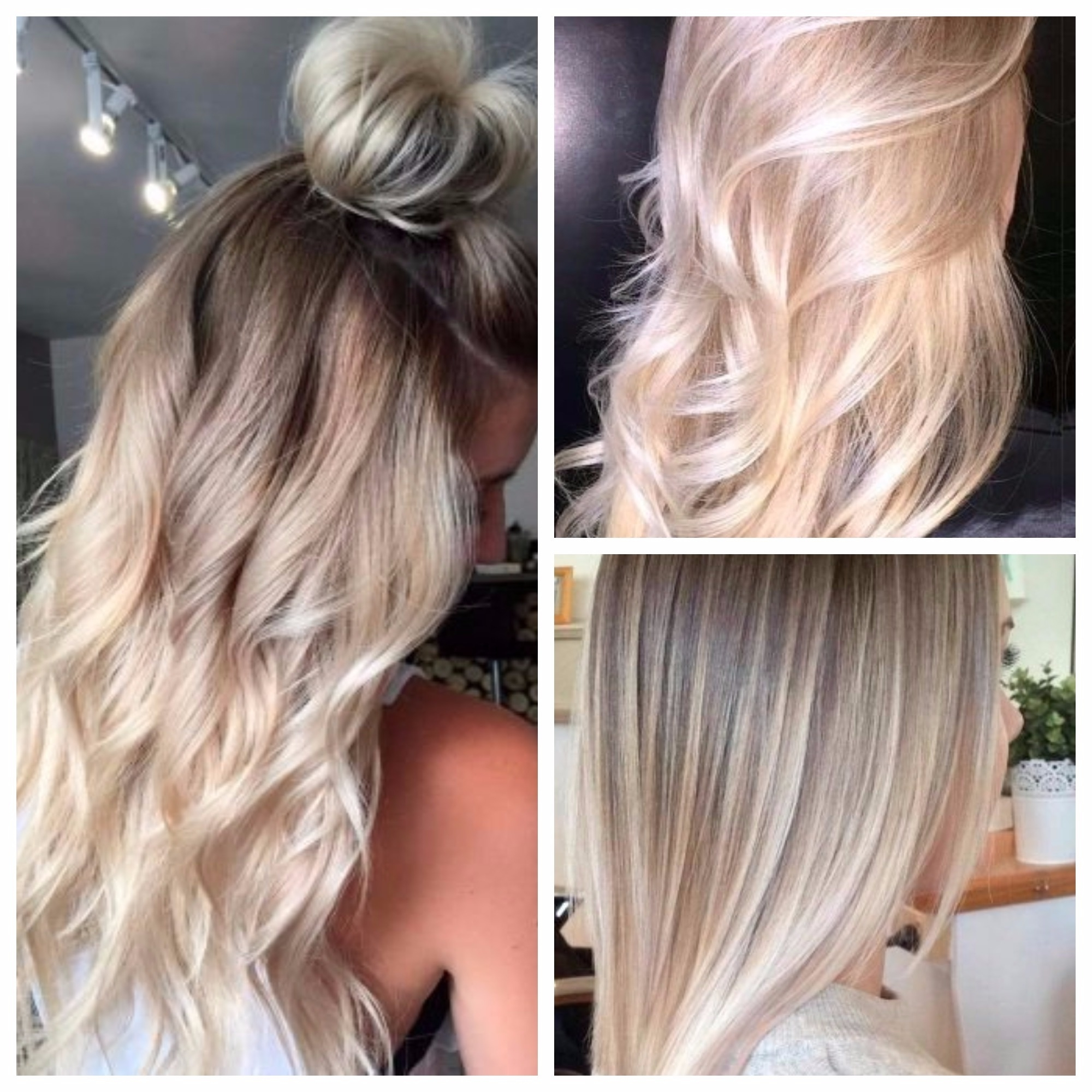Fashionable Dark Blonde Hairstyles With Icy Streaks For Blonde Ombre Hair Colors You Should Try – Hair World Magazine (View 8 of 20)