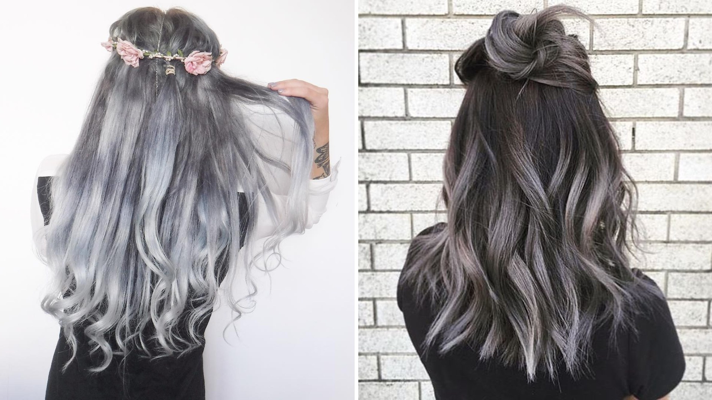 Fashionable Grayscale Ombre Blonde Hairstyles Within The Gray Hair Trend: 32 Instagram Worthy Gray Ombré Hairstyles (View 7 of 20)