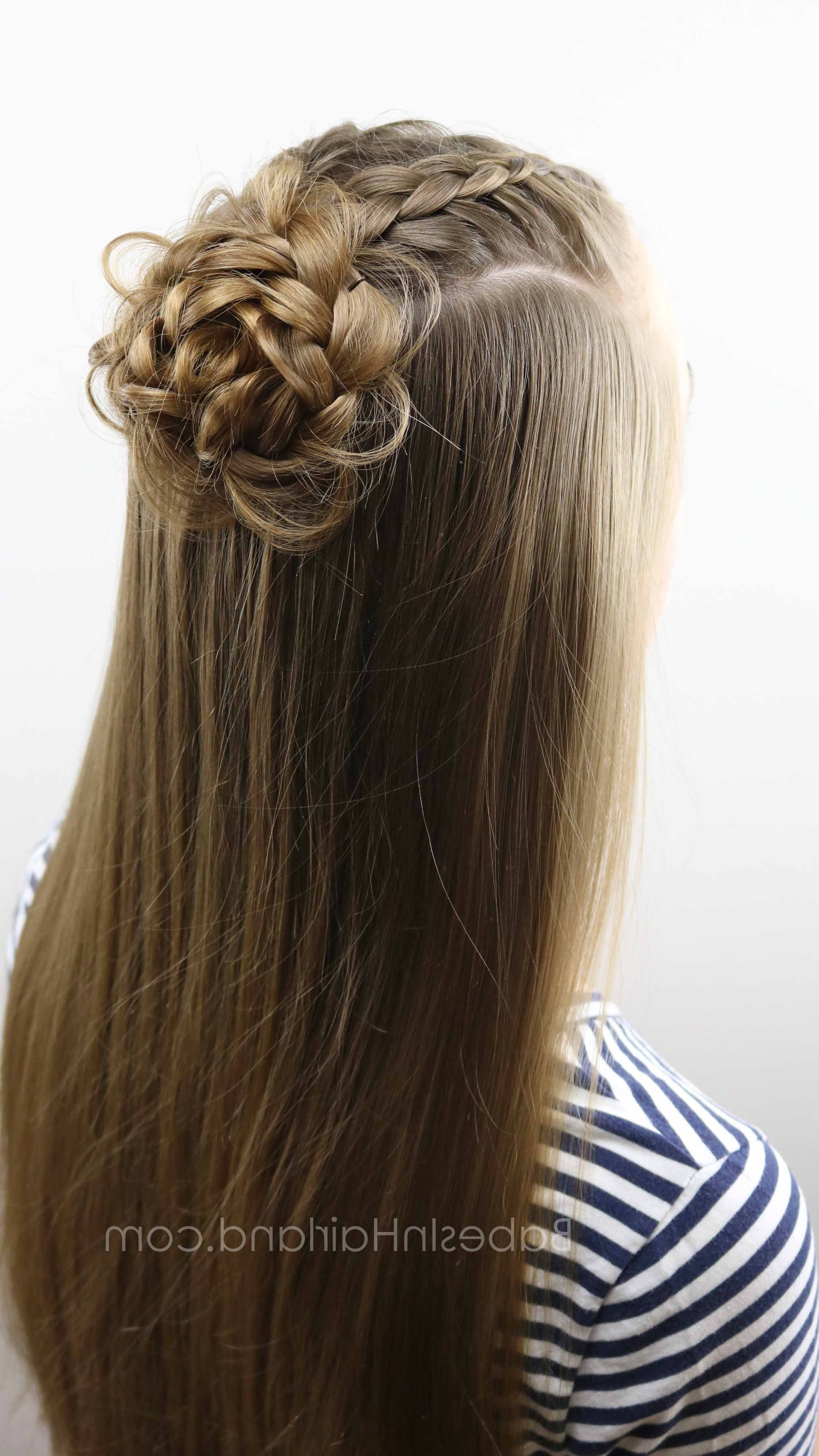 Fashionable Ponytail Hairstyles With Dutch Braid Within 2 Dutch Braids 5 Different Hairstyles (View 13 of 20)