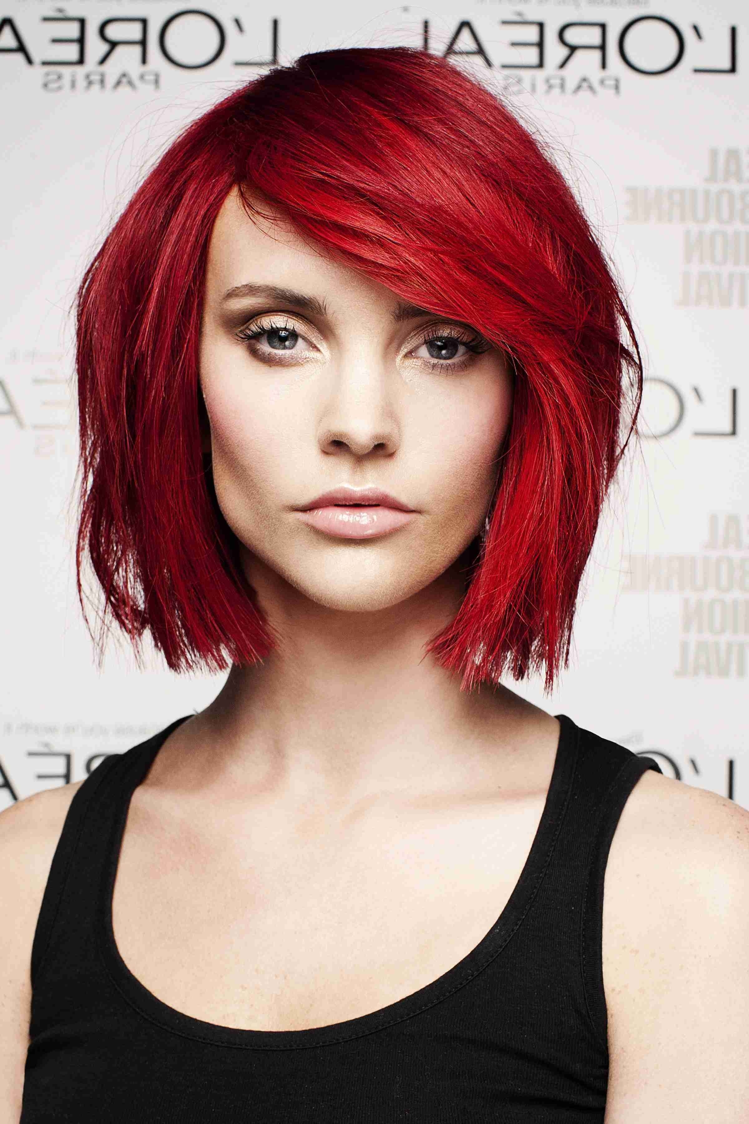 Fashionable Ravishing Red Pixie Hairstyles Pertaining To How To Navigate Your Makeup When You Have An Intense Hair Colour (View 10 of 20)