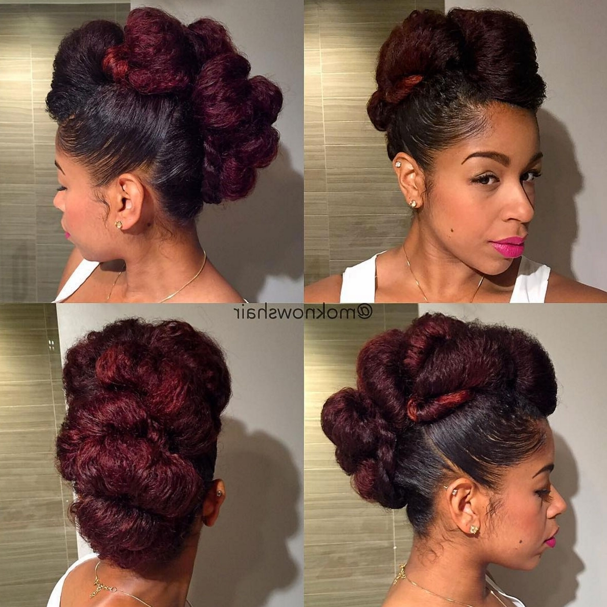 Fashionable Sky High Pompadour Braid Pony Hairstyles Within 39 Hairstyles Perfect For Summer Weddings – Essence (View 9 of 20)