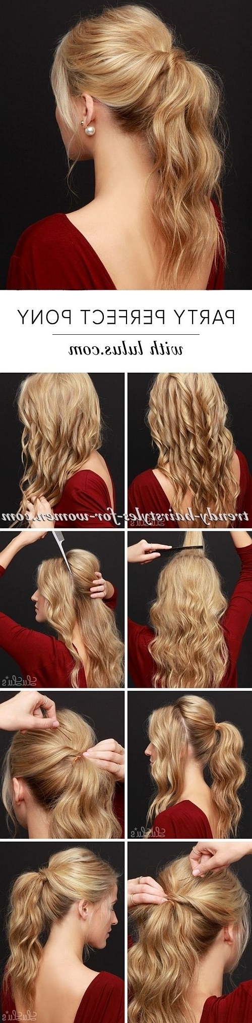 Fashionable Updo Ponytail Hairstyles With Poof Inside 16 Best Ponytail Tutorials That Will Make You A Pony Hairstyling Expert! (View 16 of 20)