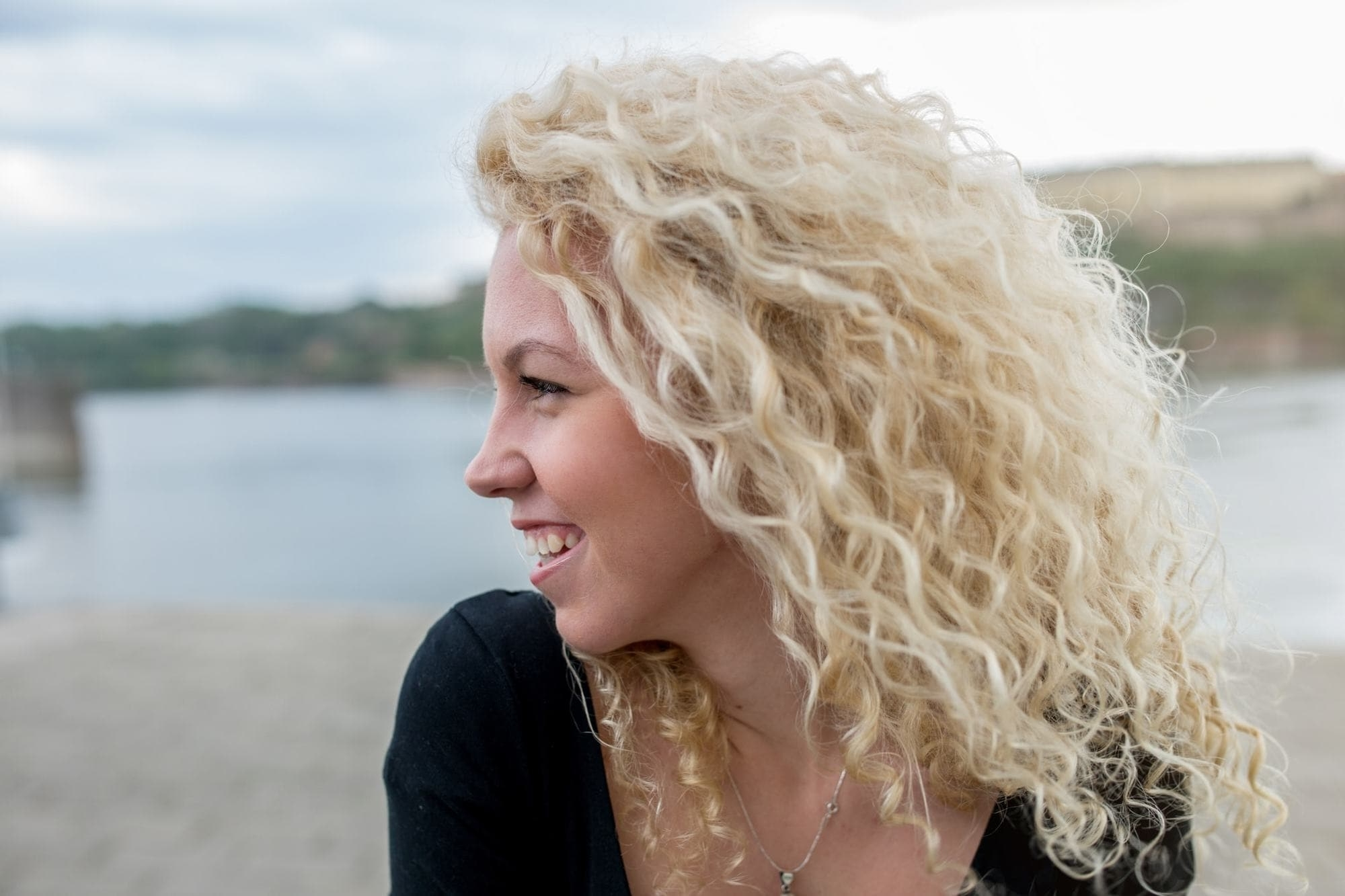 Fashionable White Blonde Curls Hairstyles Within Blonde Curly Hair: 16 Bold And Beautiful Ways To Wear The Look (View 10 of 20)