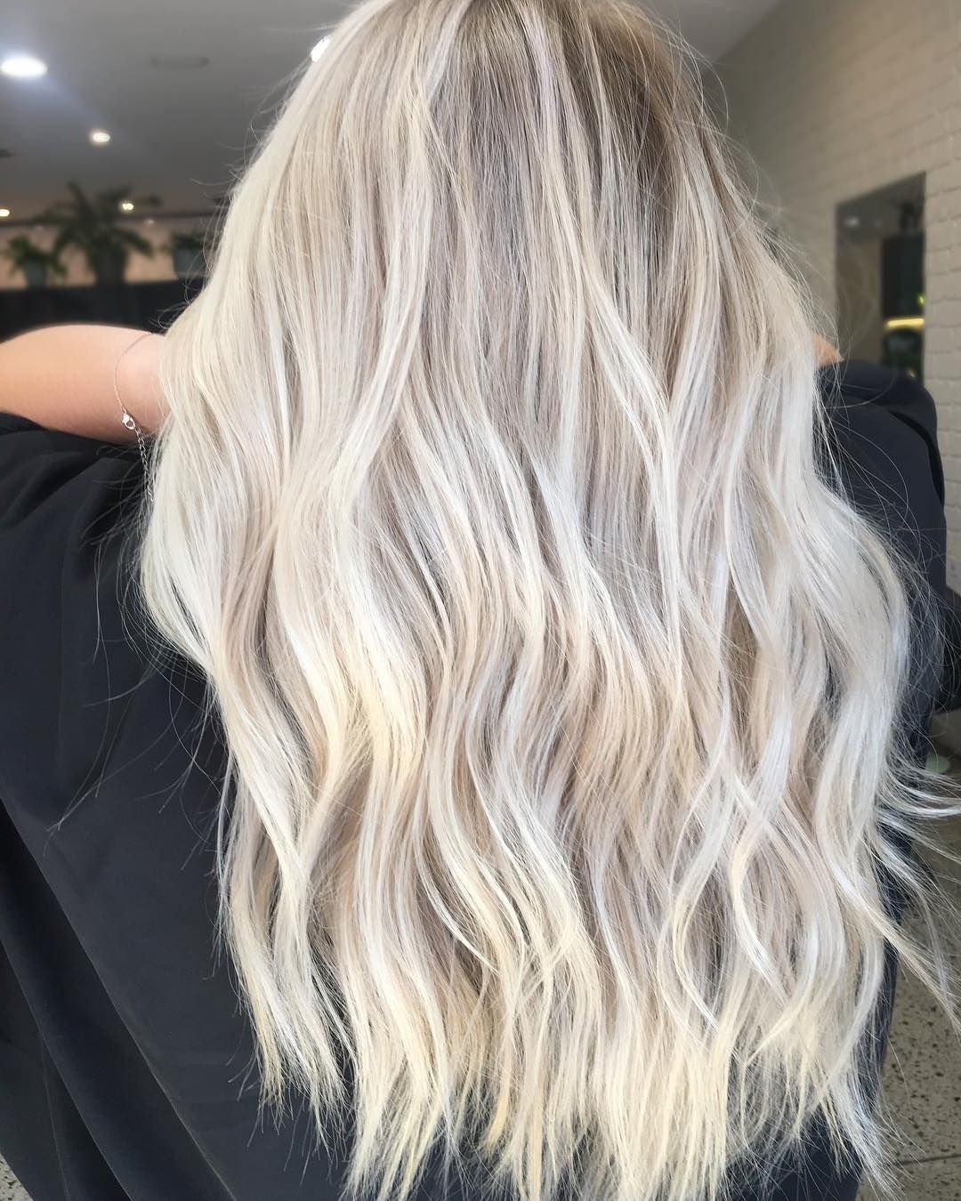 Favorite Blonde Hairstyles With Platinum Babylights For Best Balayage Highlights Hair (View 6 of 20)