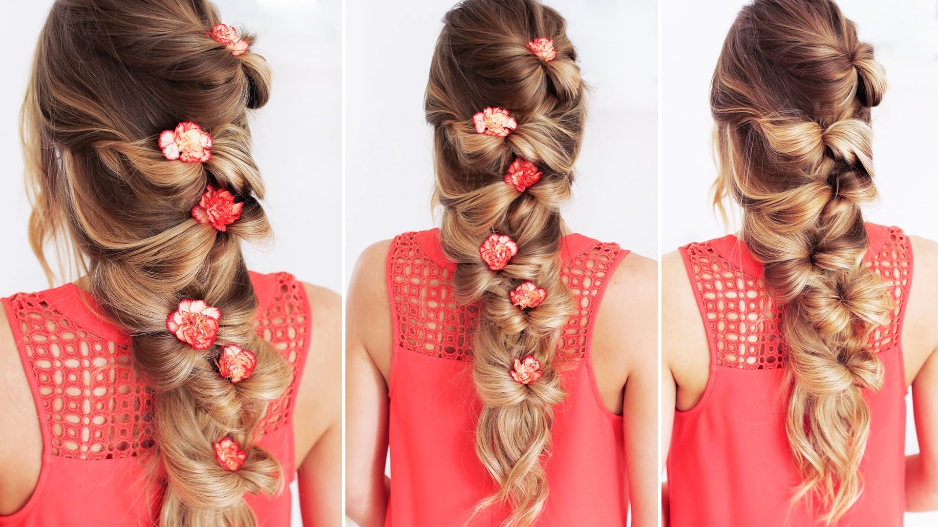 Favorite Bow Braid Ponytail Hairstyles With The Bow Braid (View 9 of 20)