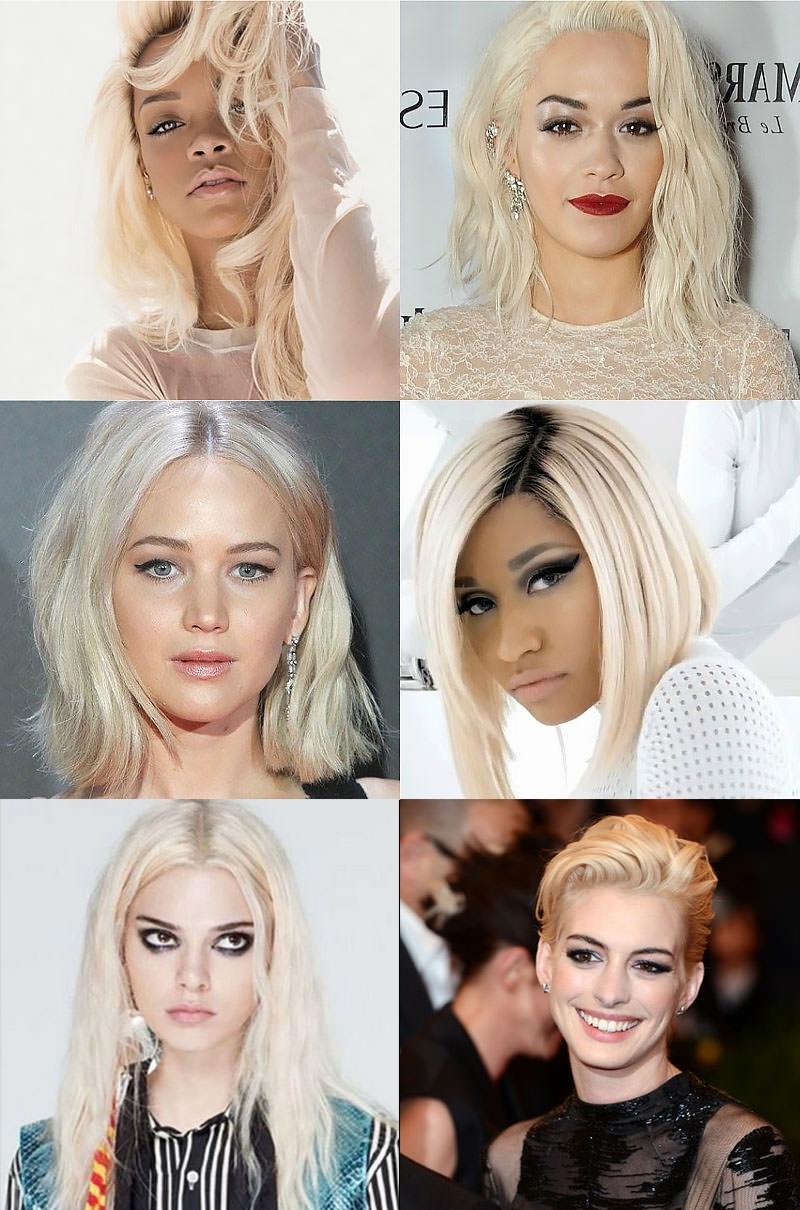 Favorite Golden And Platinum Blonde Hairstyles Regarding 6 Things You Must Know Before Going Platinum Blonde – Trend Spotter (View 8 of 20)