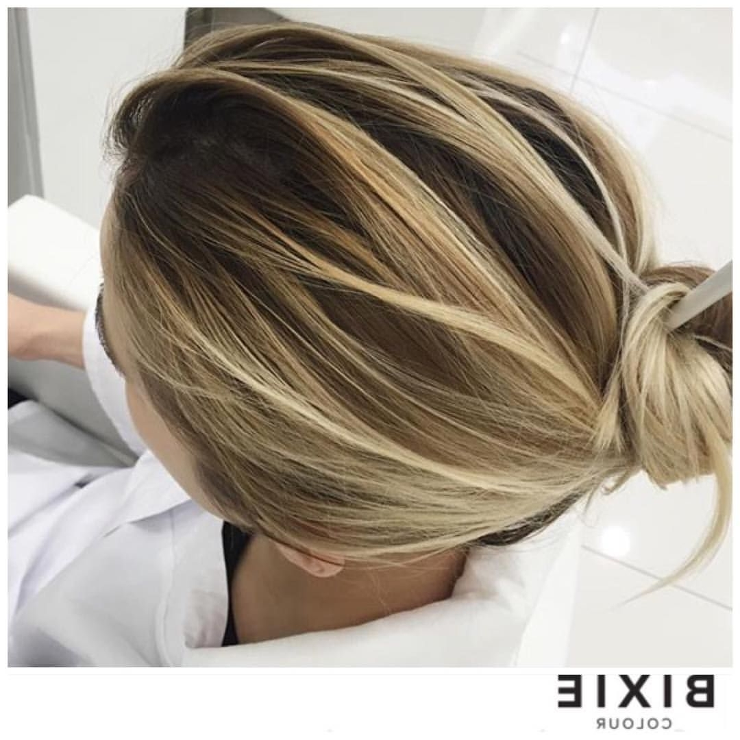 """Favorite Grown Out Balayage Blonde Hairstyles Throughout Colour Lives Here ™ On Instagram: """"Balayage Goals (View 17 of 20)"""