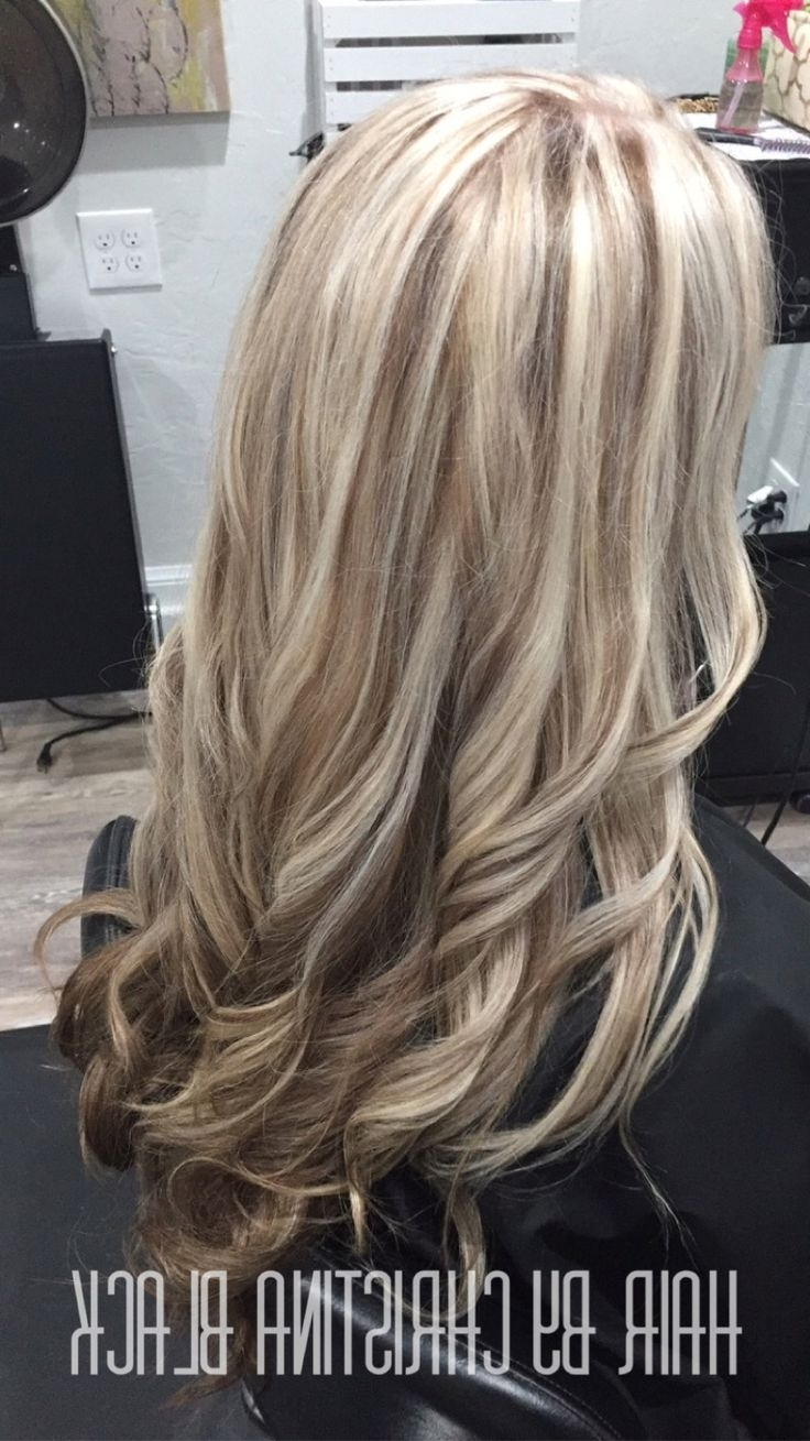 Favorite Light Chocolate And Vanilla Blonde Hairstyles For Ash Blonde Highlights With Chocolate Brown Lowlights And Under Color (View 5 of 20)