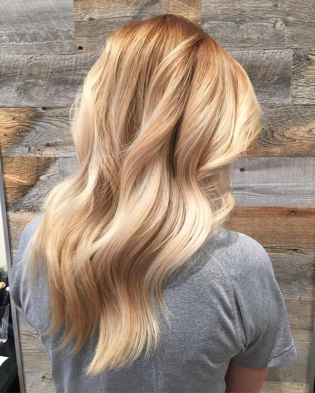 Favorite Multi Tonal Mid Length Blonde Hairstyles Intended For Warm Toned Blonde … (View 15 of 20)