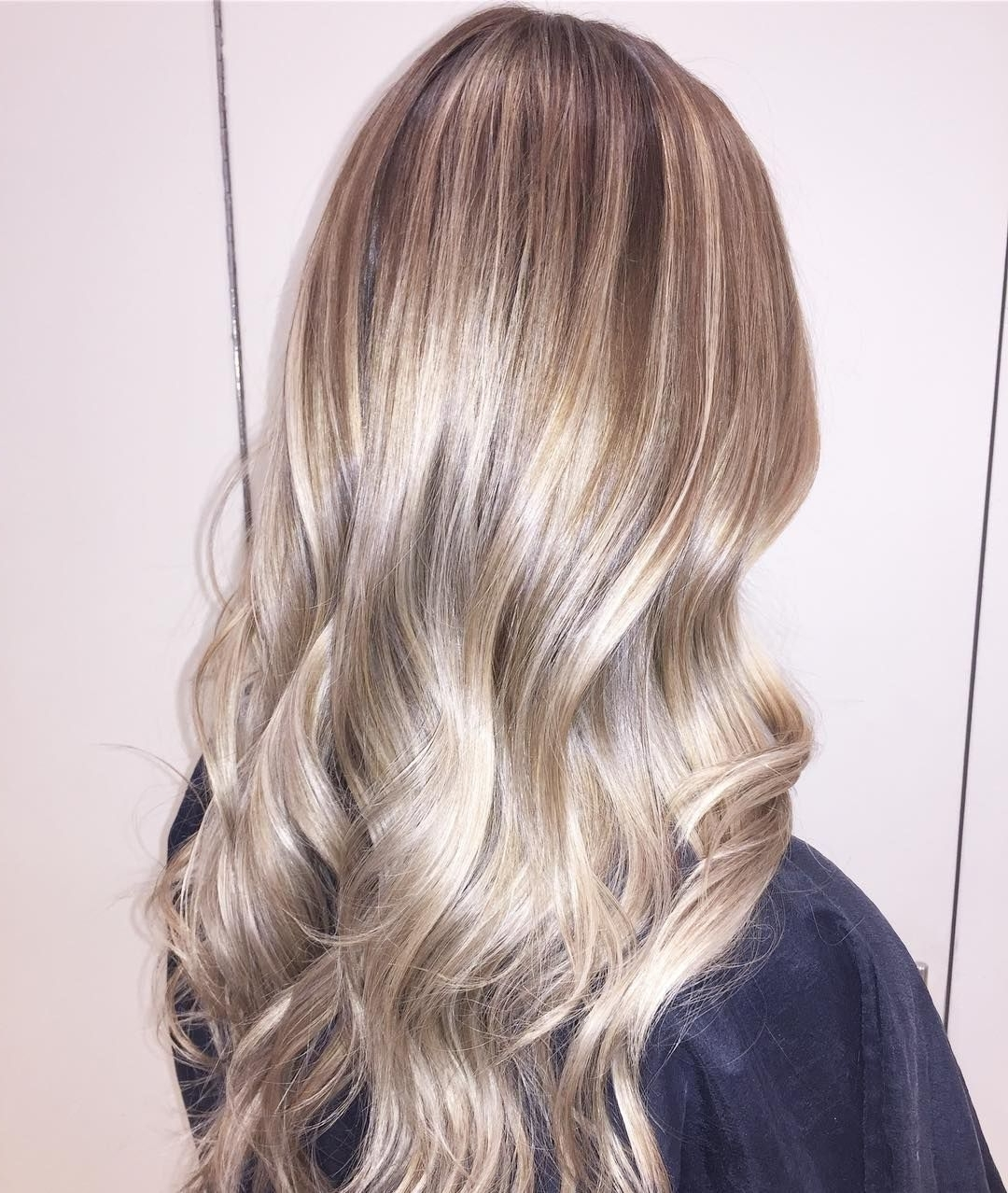 Favorite Pale Blonde Balayage Hairstyles With Regard To Shiny Toffee Blonde Hair With Pale Blonde Balayage (View 3 of 20)