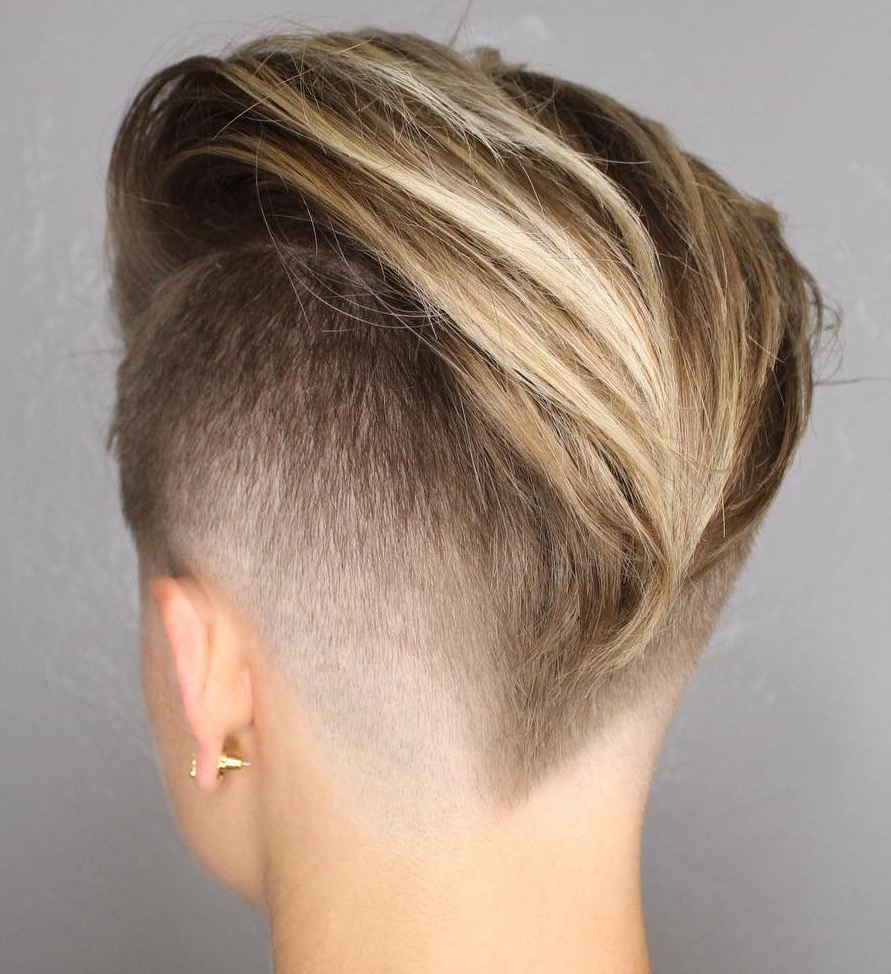 Favorite Pixie Bob Hairstyles With Temple Undercut Inside 20 Inspiring Pixie Undercut Hairstyles (View 12 of 20)