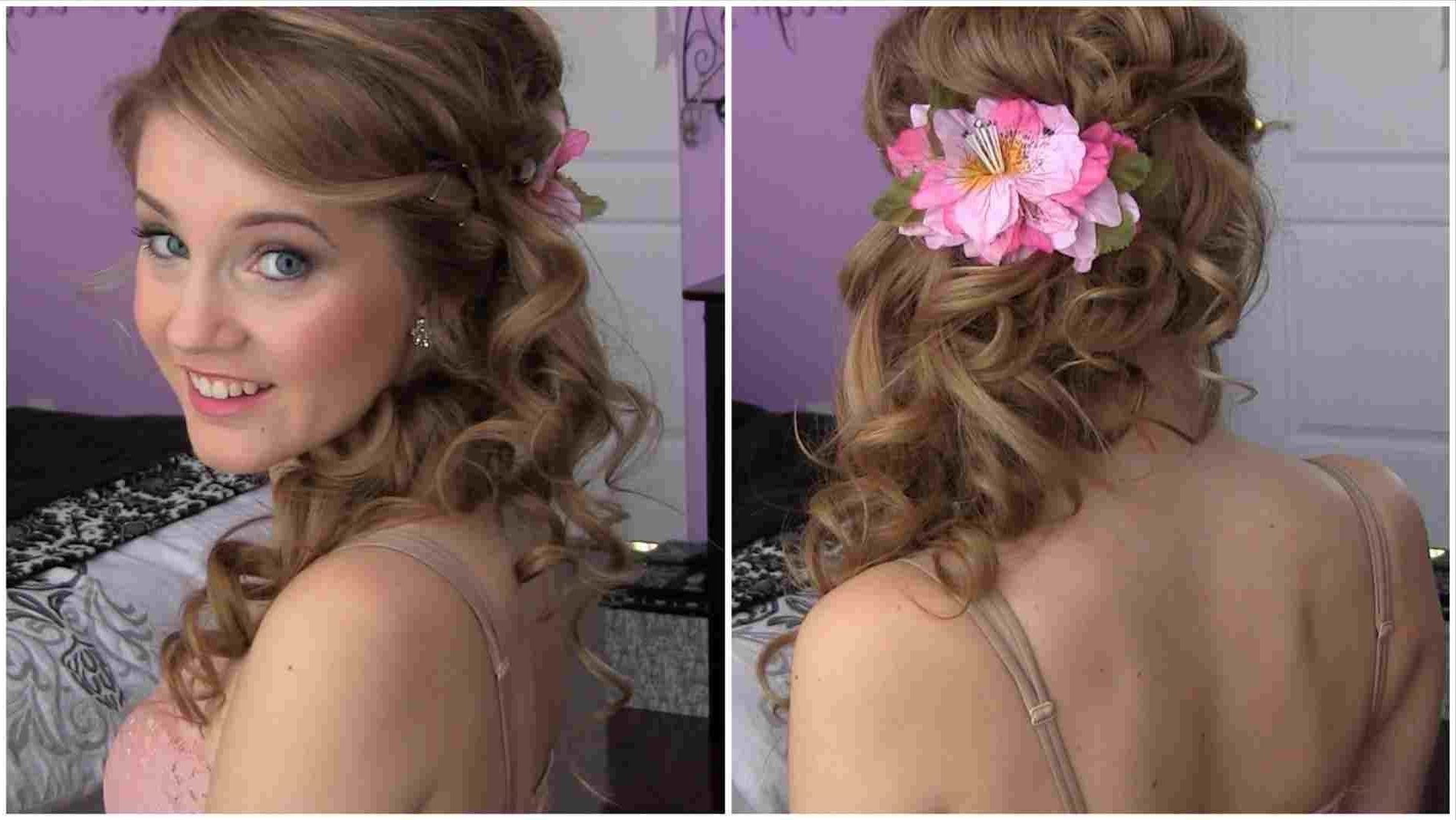 Favorite Ponytail Cascade Hairstyles With French Pony Rhhollywoodhillsus Side Prom Hairstyles Ponytail With (View 7 of 20)