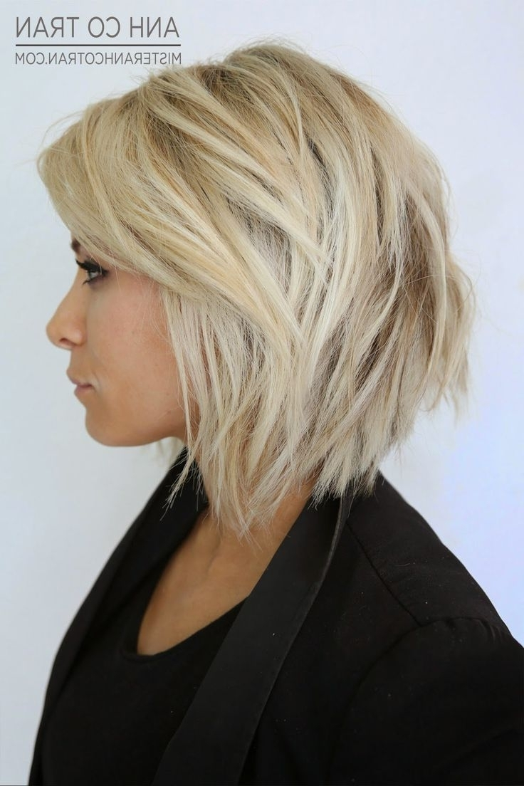 Favorite Short Blonde Bob Hairstyles With Layers With Regard To Short Blonde Layered Bob 56 With Short Blonde Layered Bob (View 10 of 20)
