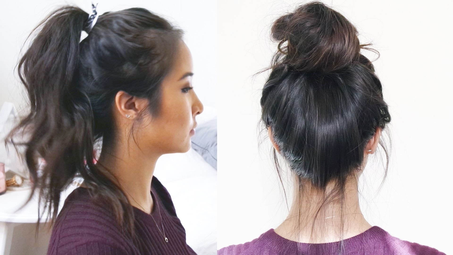 Favorite Wavy Ponytail Hairstyles In How To: Wavy Ponytail + Messy Bun (View 7 of 20)