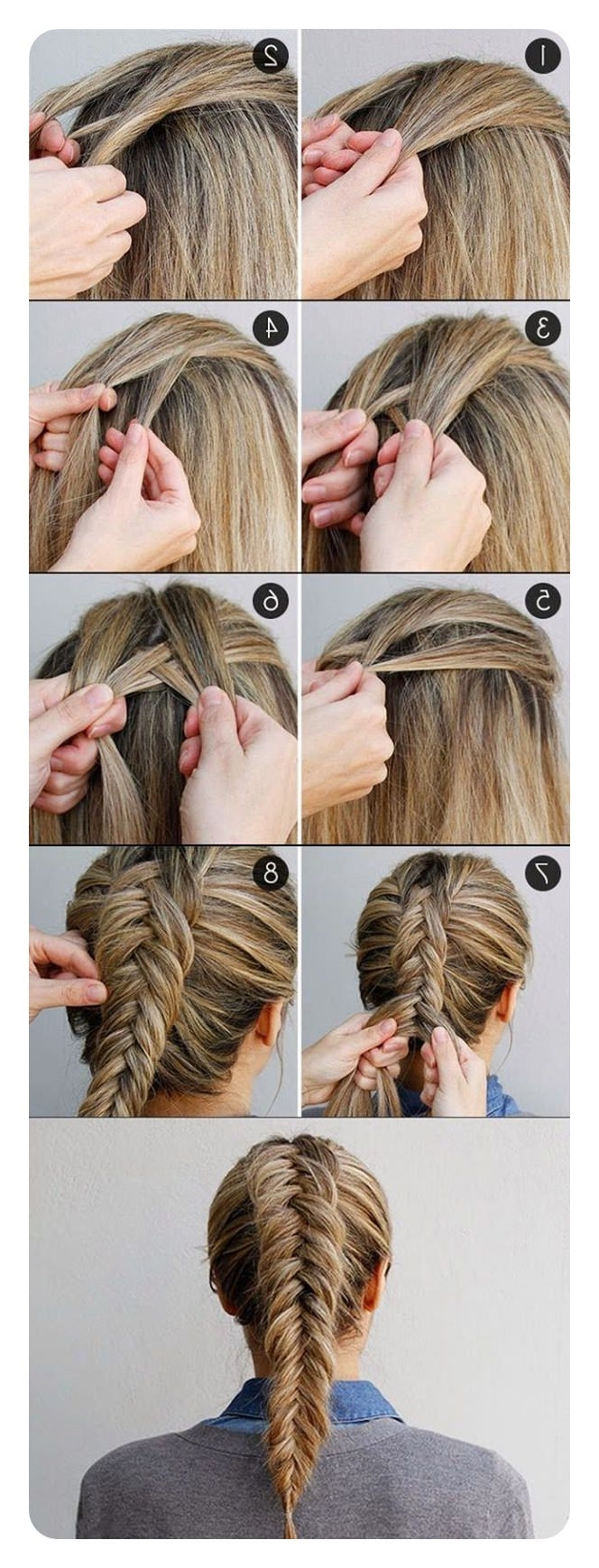 Favorite Wispy Fishtail Hairstyles In 94 Incredible Fishtail Braid Ideas With Tutorials (View 6 of 20)