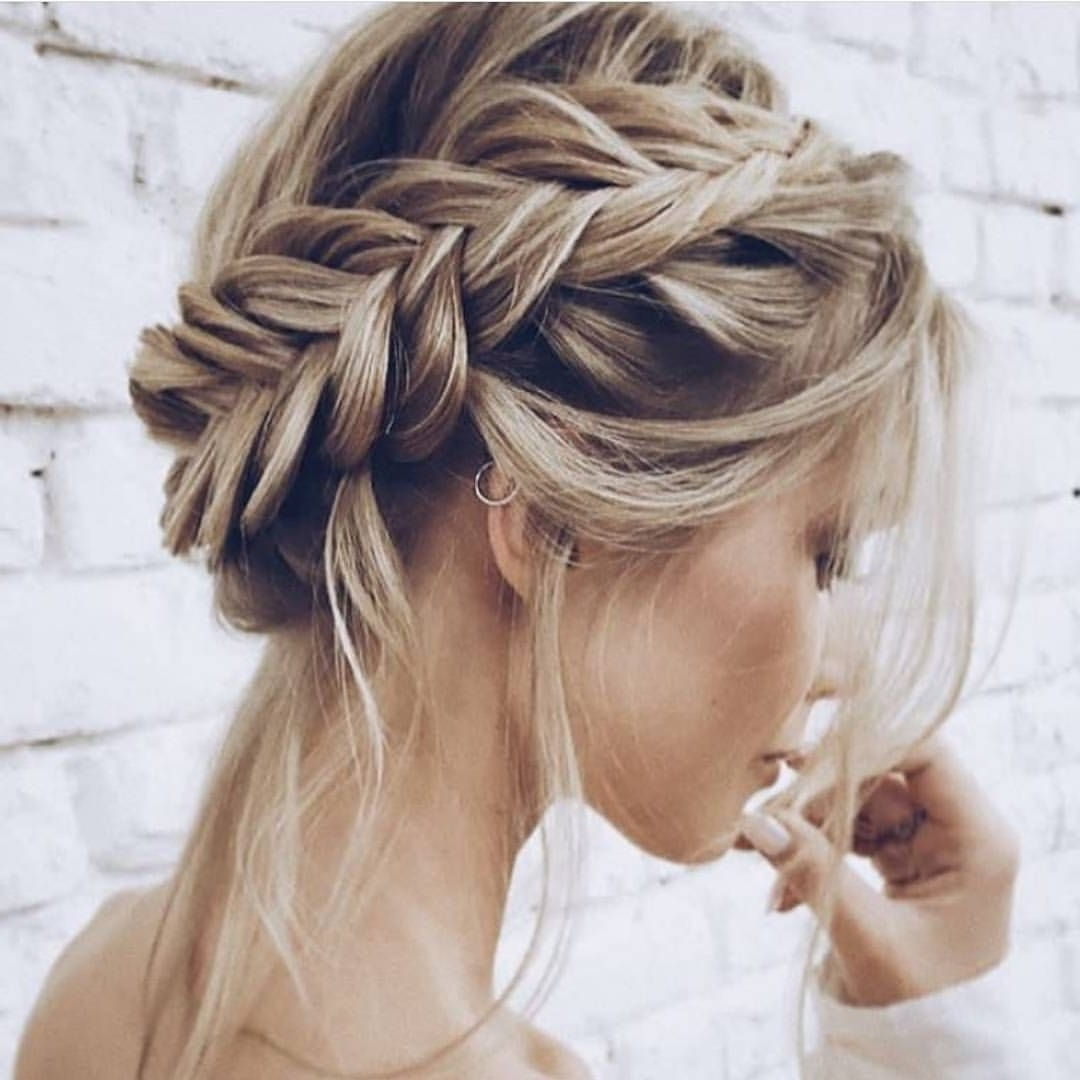 20 Best Ideas of Wispy Fishtail Hairstyles