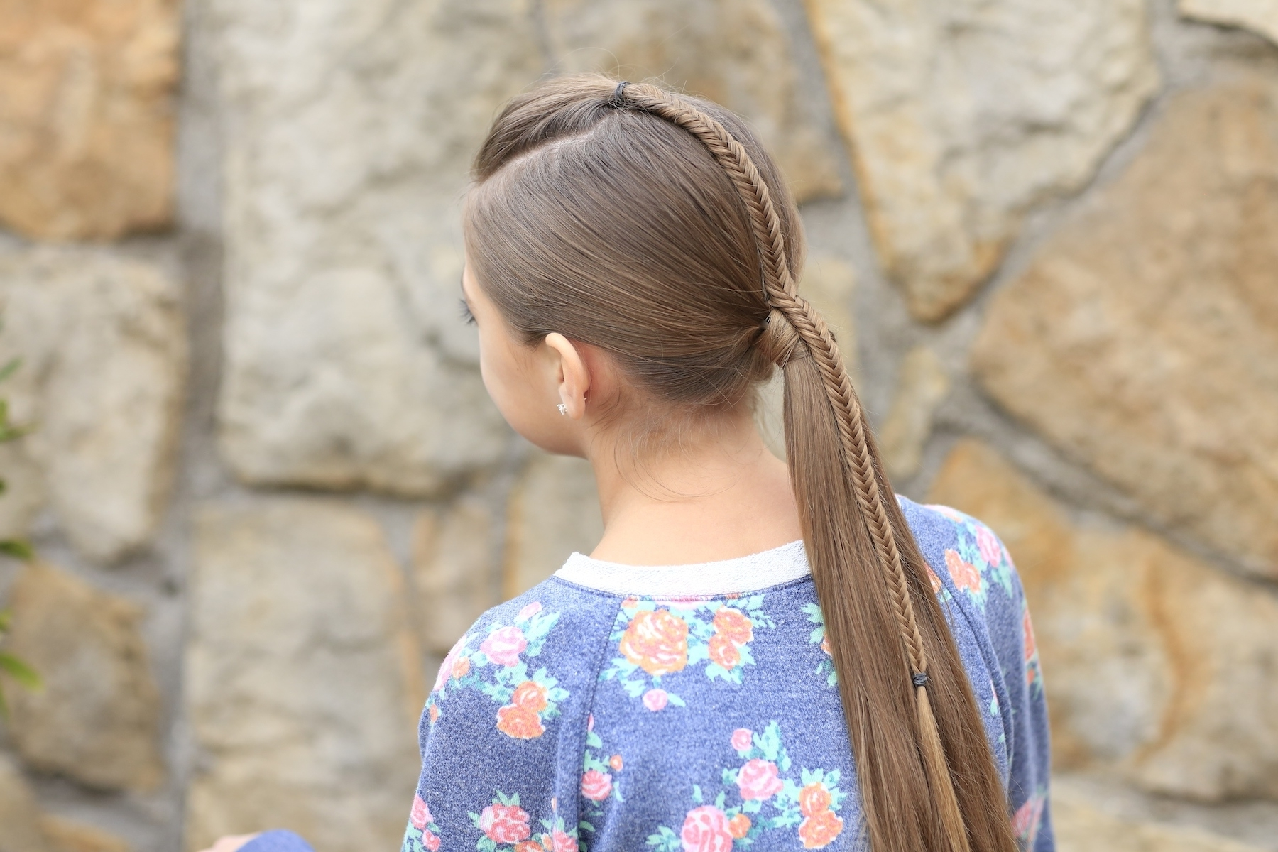 Fishtail Accented Ponytail (View 8 of 20)