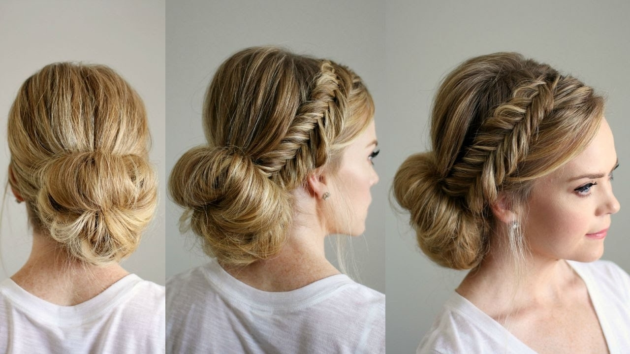 Fishtail Braid Updo (View 8 of 20)