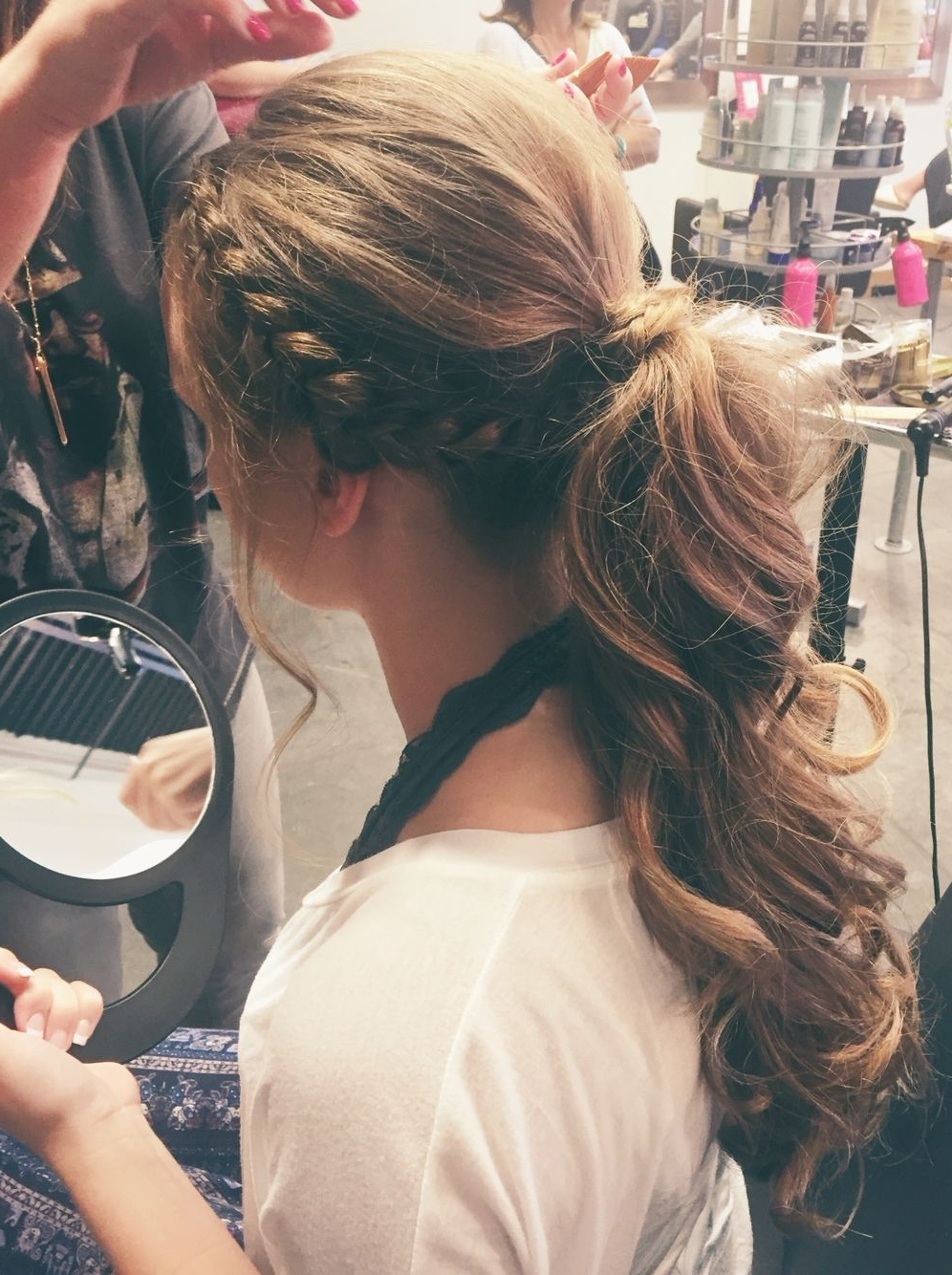 Formal Ponytail, Ponytail And Pertaining To Best And Newest Intricate Updo Ponytail Hairstyles For Highlighted Hair (View 12 of 20)
