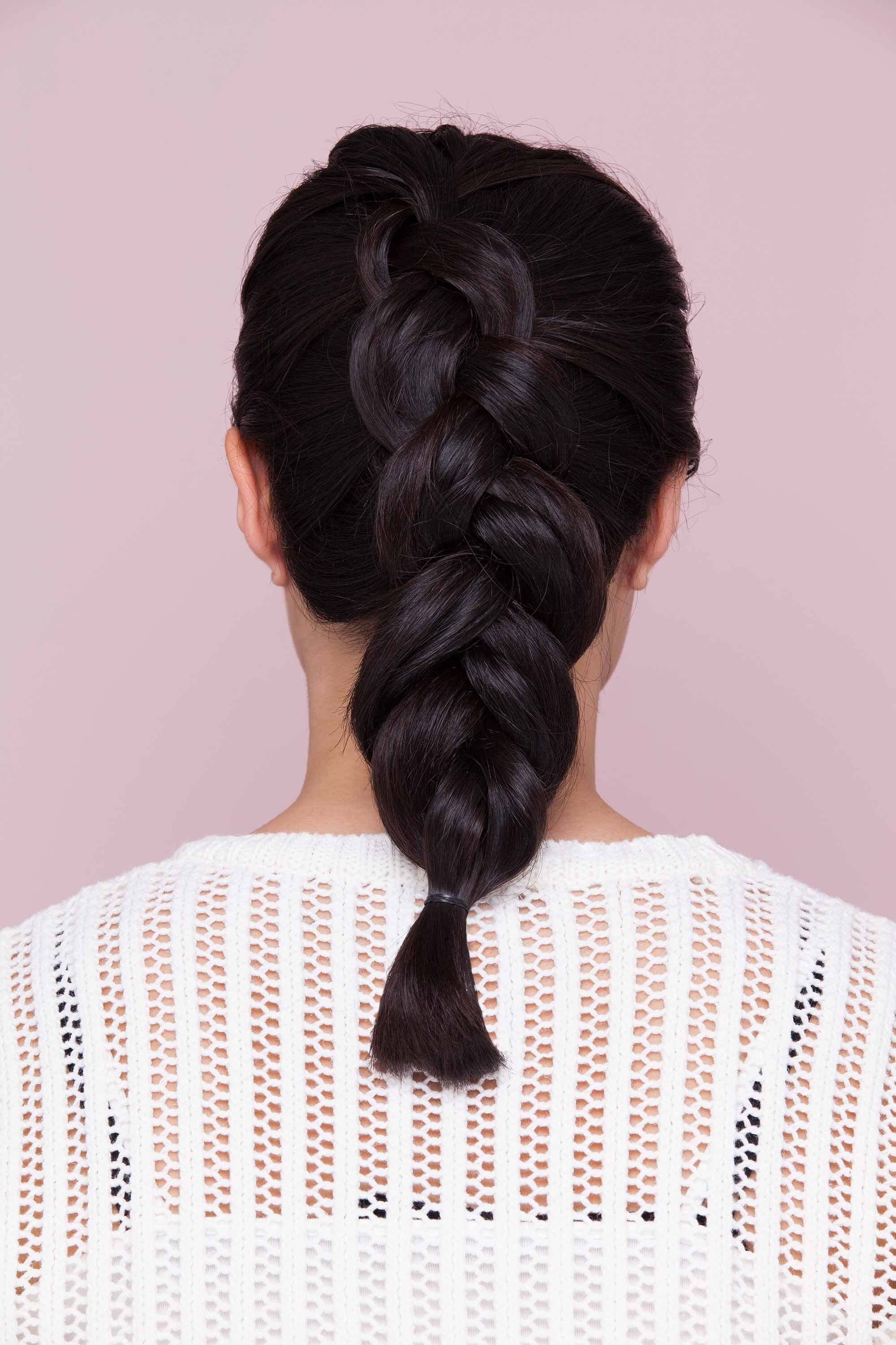 French Braid Hairstyles: 8 Casual Weekend Plaits To Try Within Newest French Braid Hairstyles With Ponytail (View 6 of 20)