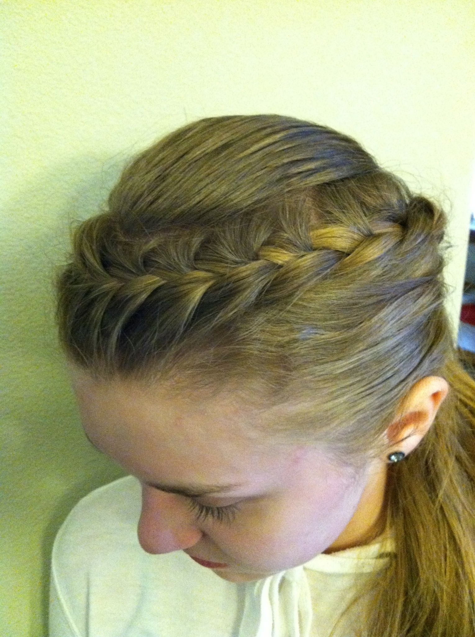 French Braid Ponytails French Braid Ponytail Hair Pinterest Pertaining To Well Liked French Braid Ponytail Hairstyles (View 11 of 20)