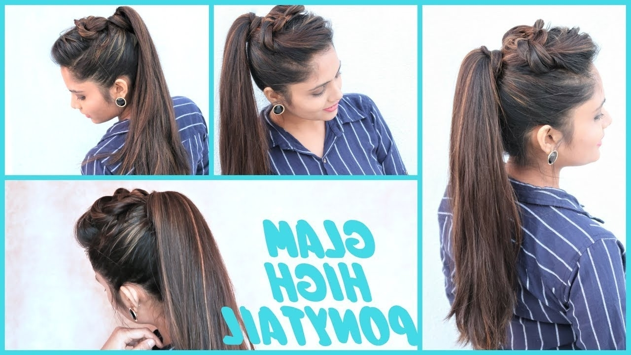 Glam High Ponytail Hairstyle (View 12 of 20)