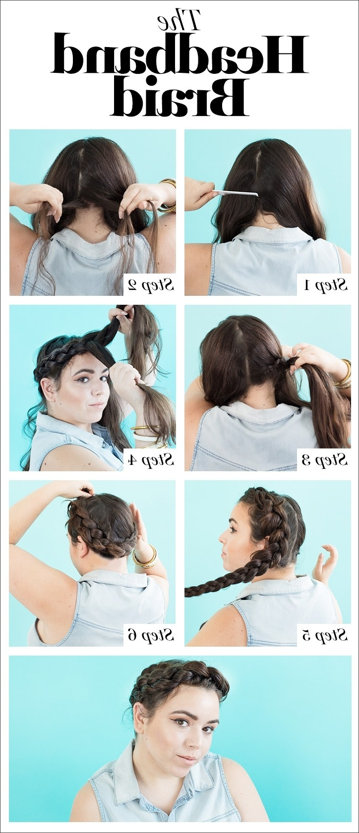 Glamour For 2017 Pony Hairstyles With Wrap Around Braid For Short Hair (Gallery 8 of 20)