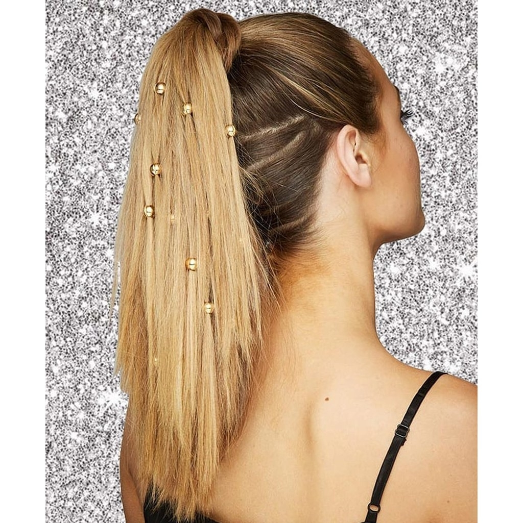 Glamour For Latest Crimped Pony Look Ponytail Hairstyles (View 7 of 20)