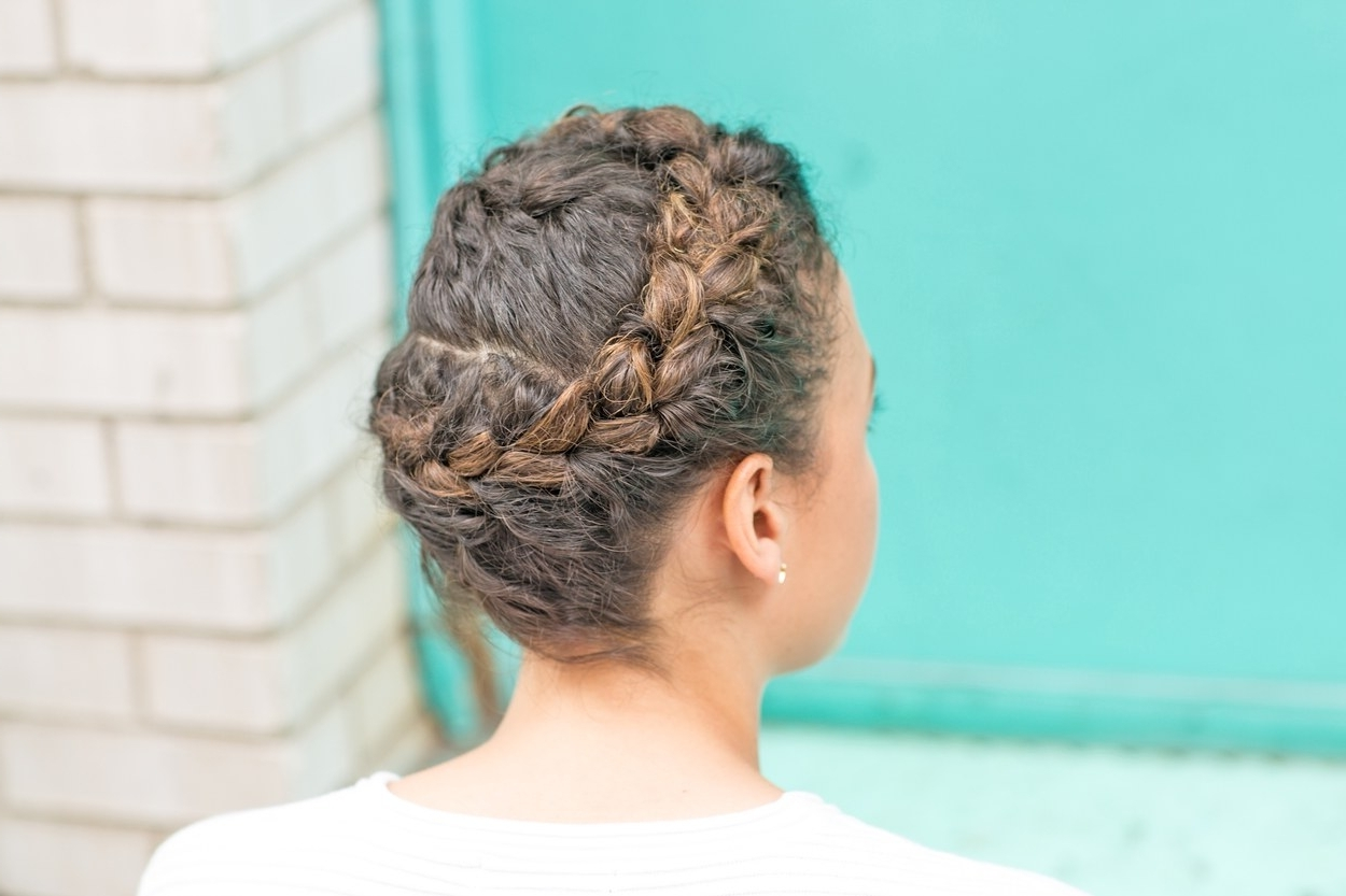 Glamour Intended For Widely Used Braids With Curls Hairstyles (View 12 of 20)
