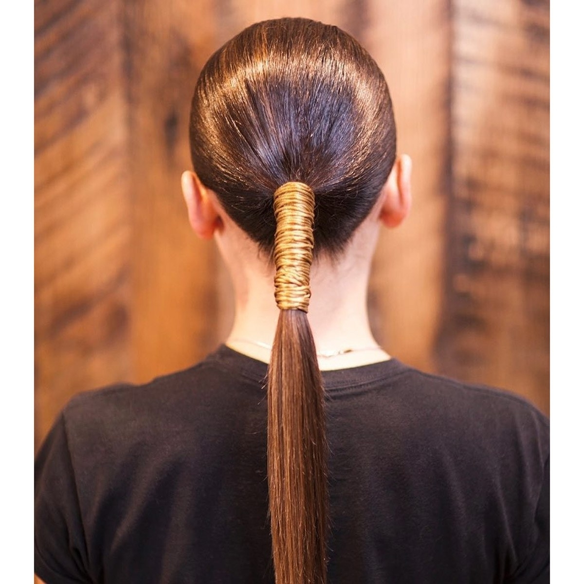 Glamour With Most Current Wrapped Up Ponytail Hairstyles (View 11 of 20)