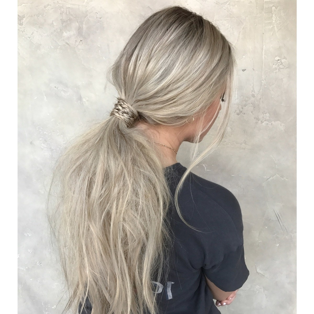 Glamour With Regard To Best And Newest Pony Hairstyles With Textured Braid (View 12 of 20)