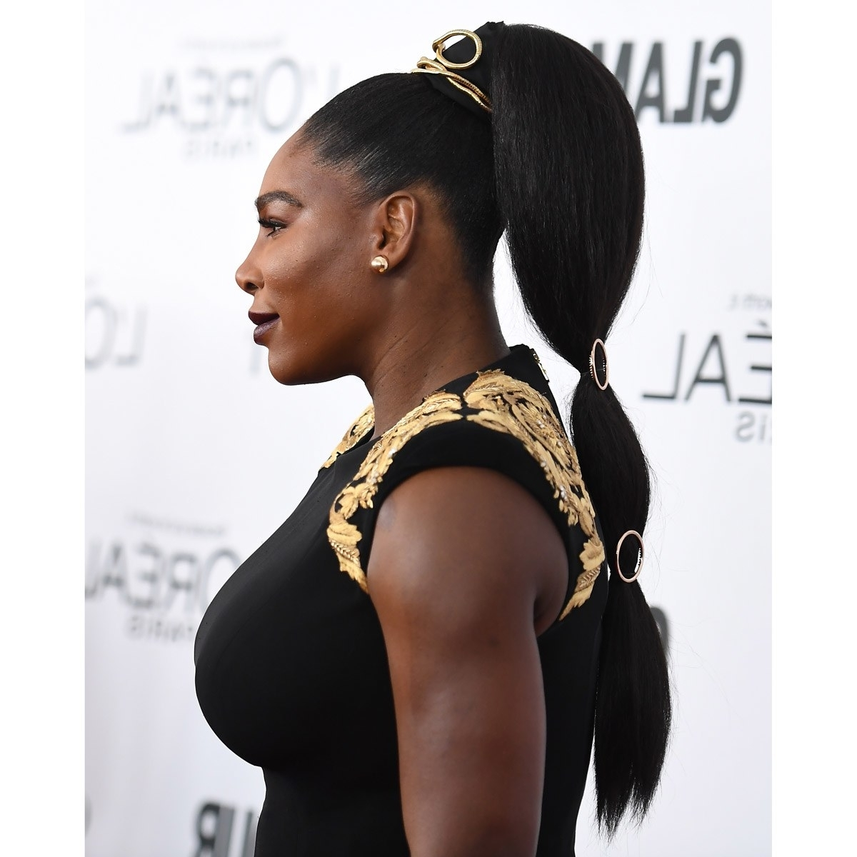 Glamour With Regard To Most Recently Released Sleek Bubble Ponytail Hairstyles (Gallery 1 of 20)