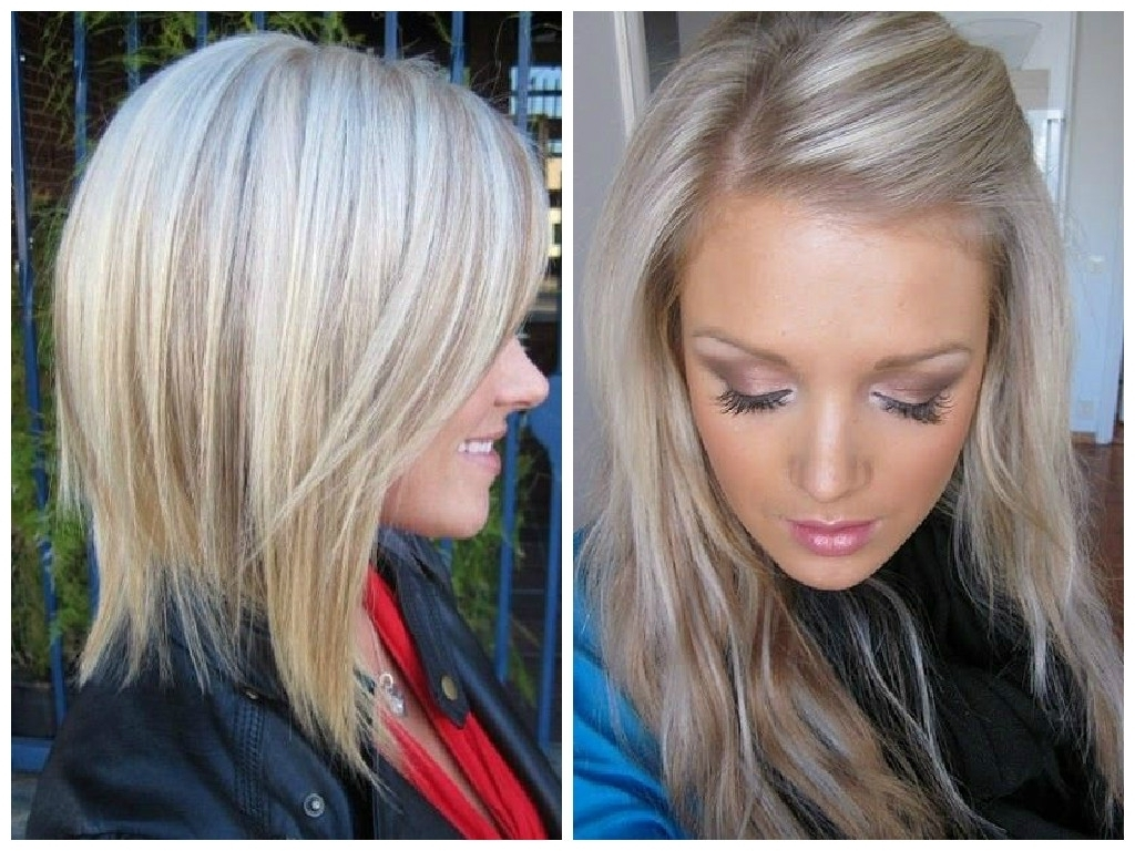 Golden Blonde Hair With Platinum Highlights (View 7 of 20)