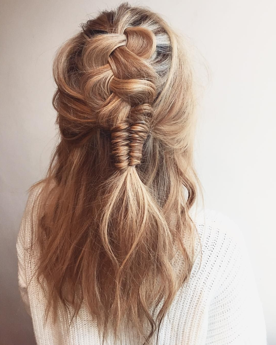Gorgeous Hair Style For #midihair And #longhair <3 Perhaps For A With Latest Brunette Macrame Braid Hairstyles (Gallery 2 of 20)