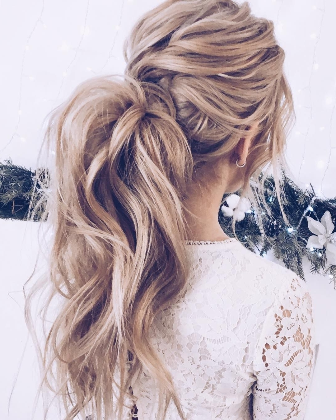 Gorgeous Ponytail Hairstyle Ideas That Will Leave You In Fab Within Recent Intricate Updo Ponytail Hairstyles For Highlighted Hair (View 5 of 20)