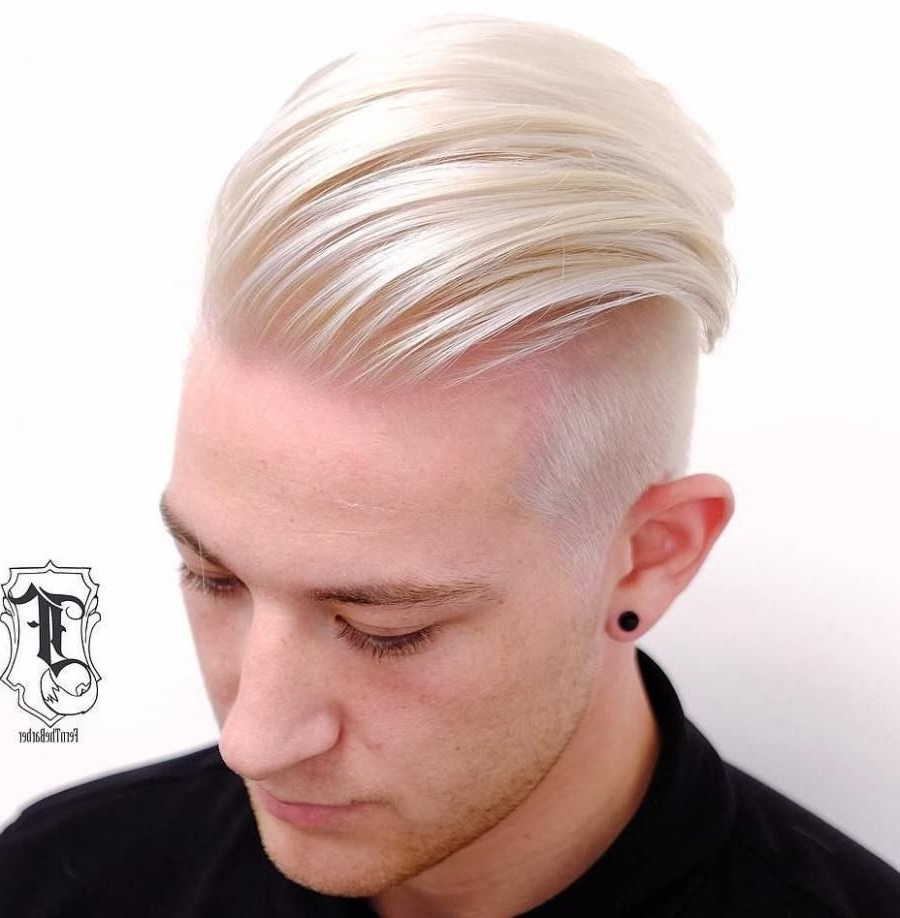 Featured Photo of Long Top Undercut Blonde Hairstyles