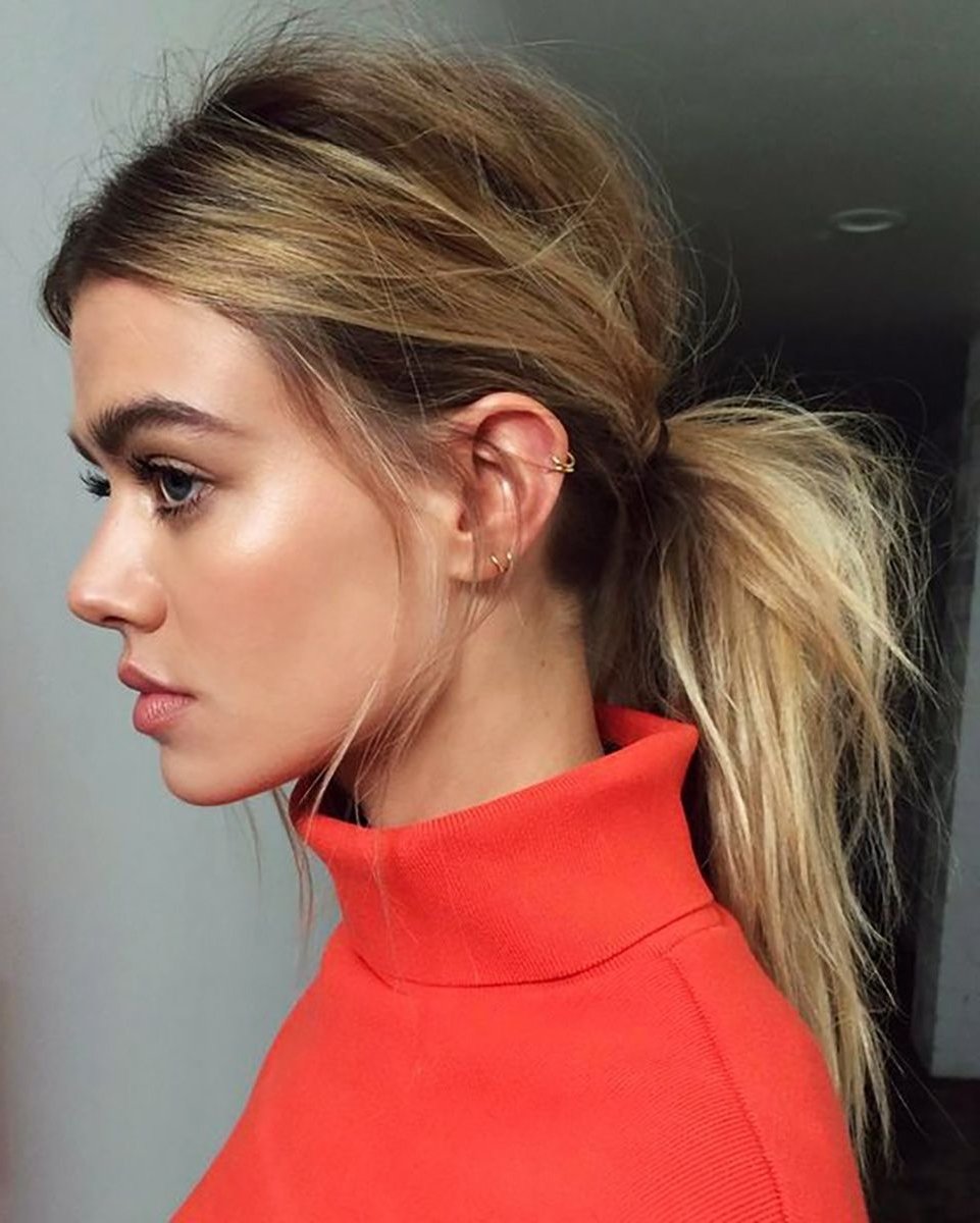 Hair & Beauty With Most Current Loose Messy Ponytail Hairstyles For Dyed Hair (View 8 of 20)