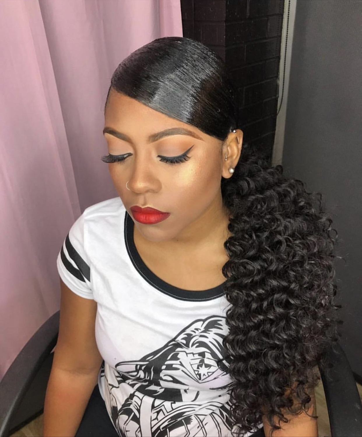 Hair Color Ideas And Styles For 2018 Inside Most Up To Date Long And Sleek Black Ponytail Hairstyles (View 8 of 20)