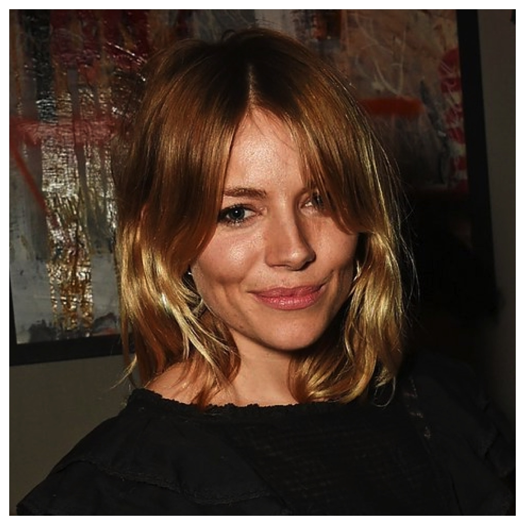 Hair Color Inspiration And Formulation: Sienna Miller's With Regard To Most Up To Date Amber And Gold Blonde Hairstyles (View 11 of 20)